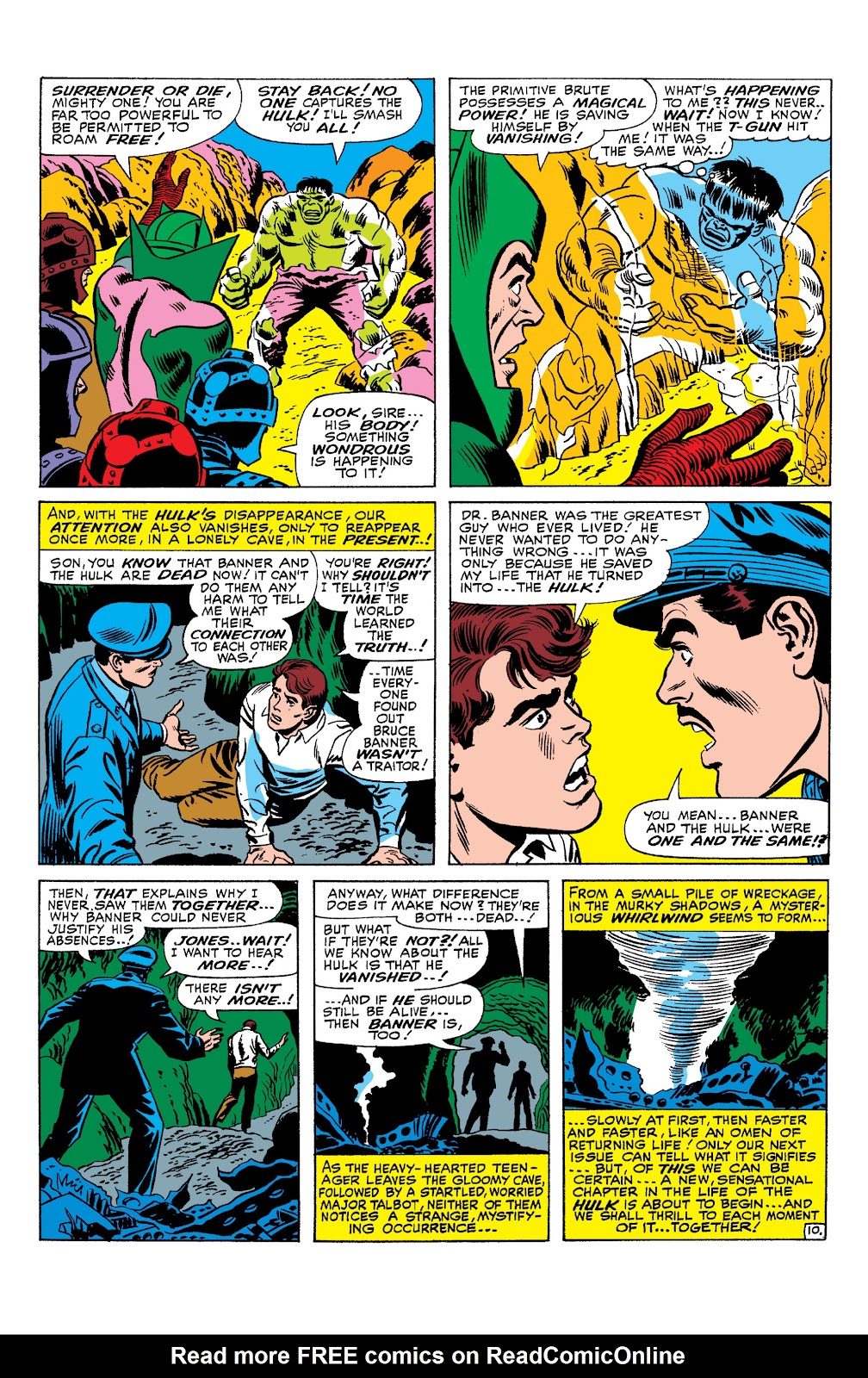 Read online Marvel Masterworks: The Incredible Hulk comic -  Issue # TPB 2 (Part 3) - 21