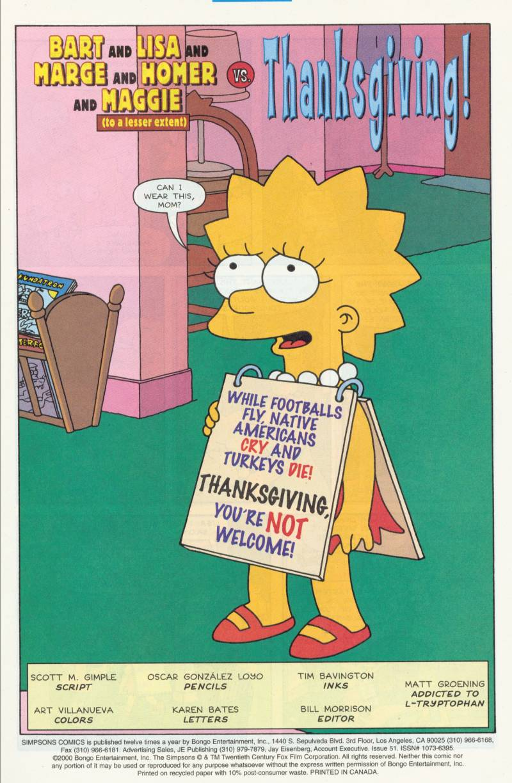 Read online Simpsons Comics comic -  Issue #51 - 2