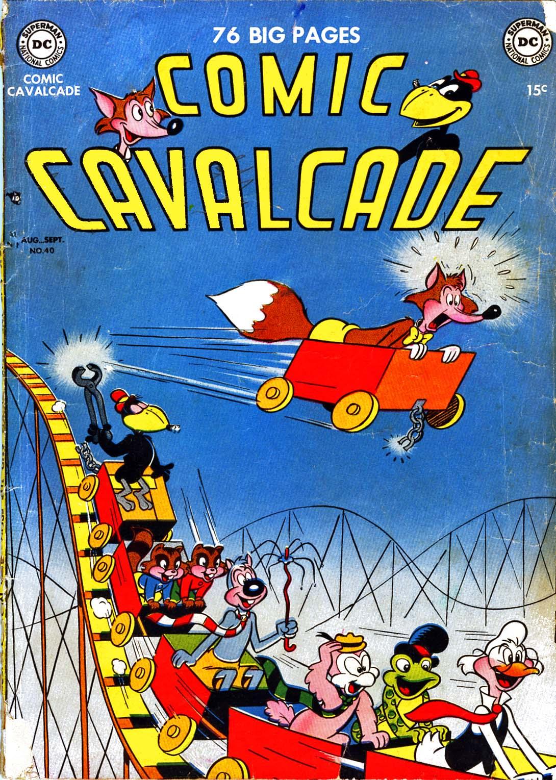 Comic Cavalcade issue 40 - Page 1