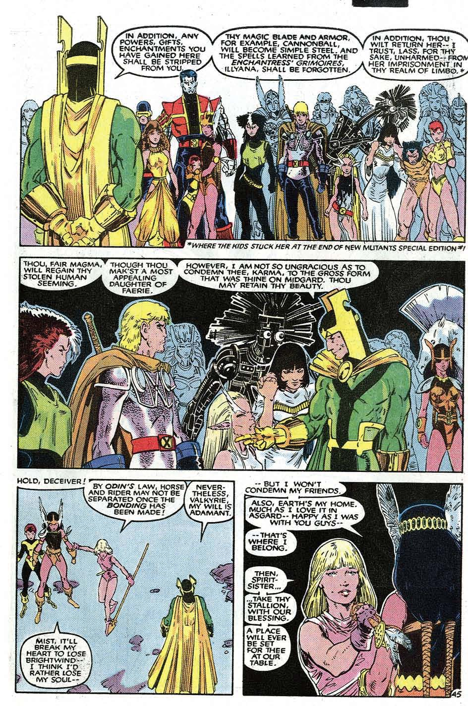 Uncanny X-Men (1963) issue _Annual_9 - Page 47