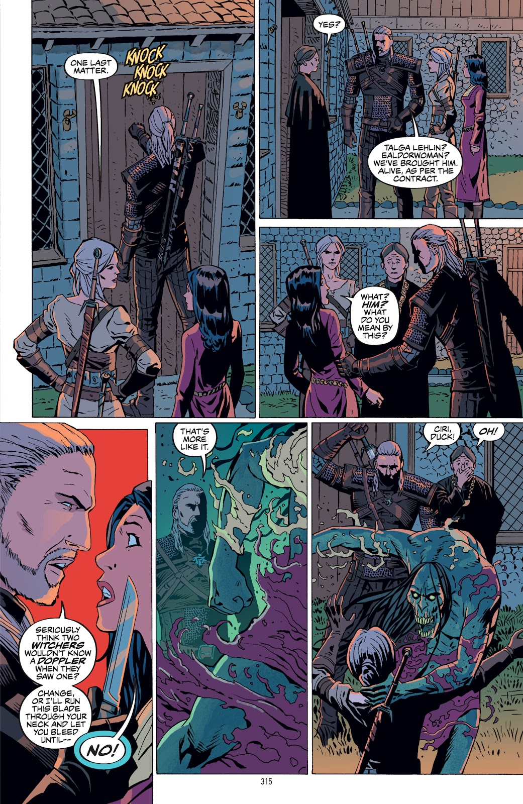Read online The Witcher Omnibus comic -  Issue # TPB (Part 4) - 18