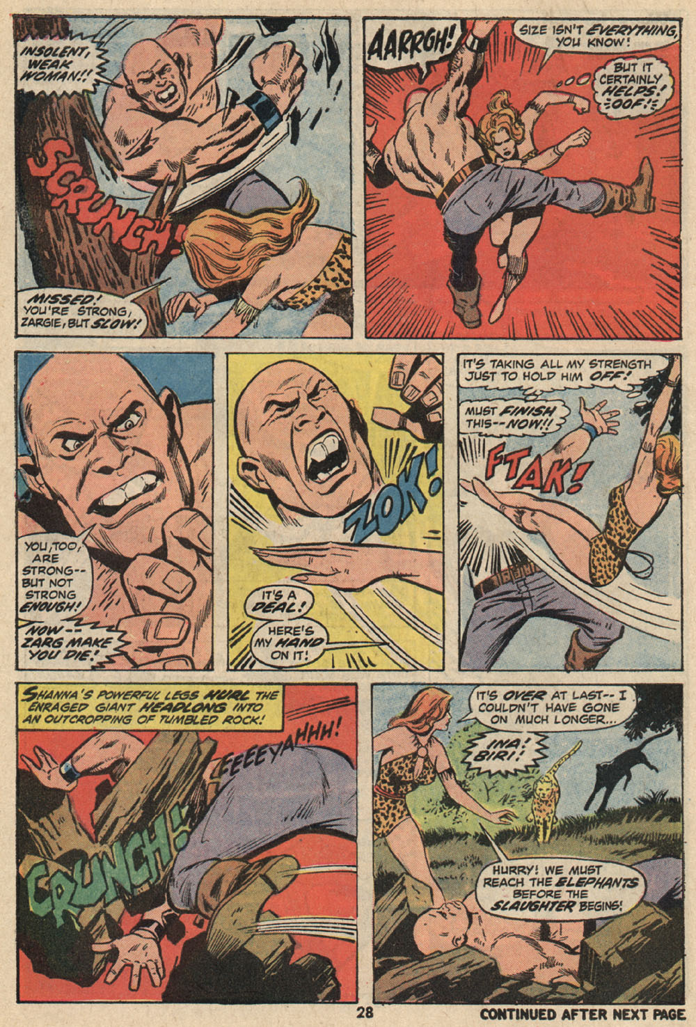 Read online Shanna, the She-Devil (1972) comic -  Issue #1 - 20