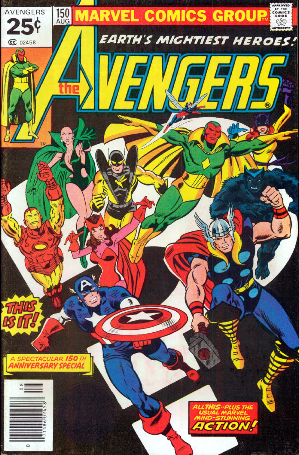 The Avengers (1963) 150 Page 1