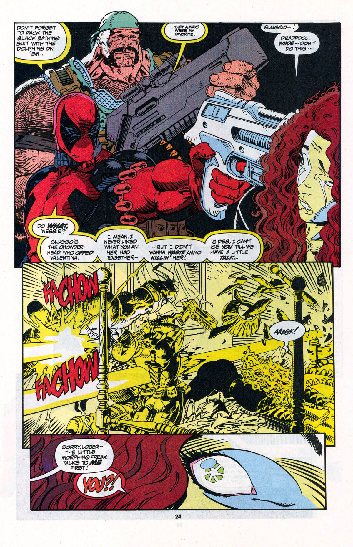 Read online X-Force (1991) comic -  Issue #23 - 24