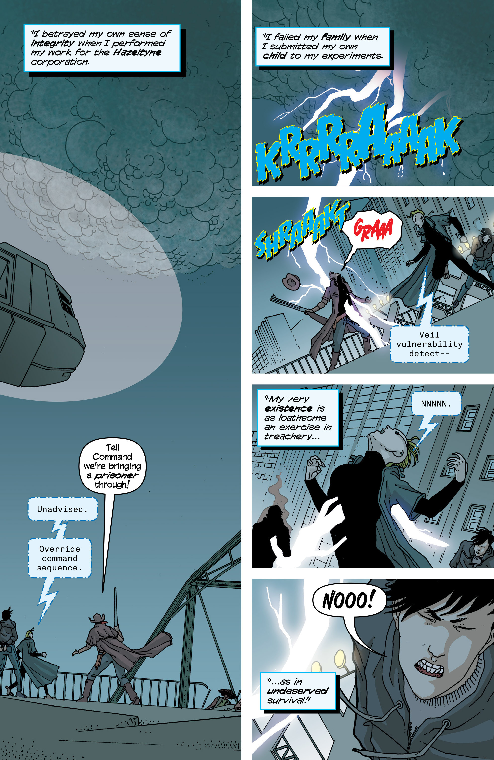 Read online Snowfall comic -  Issue #5 - 21