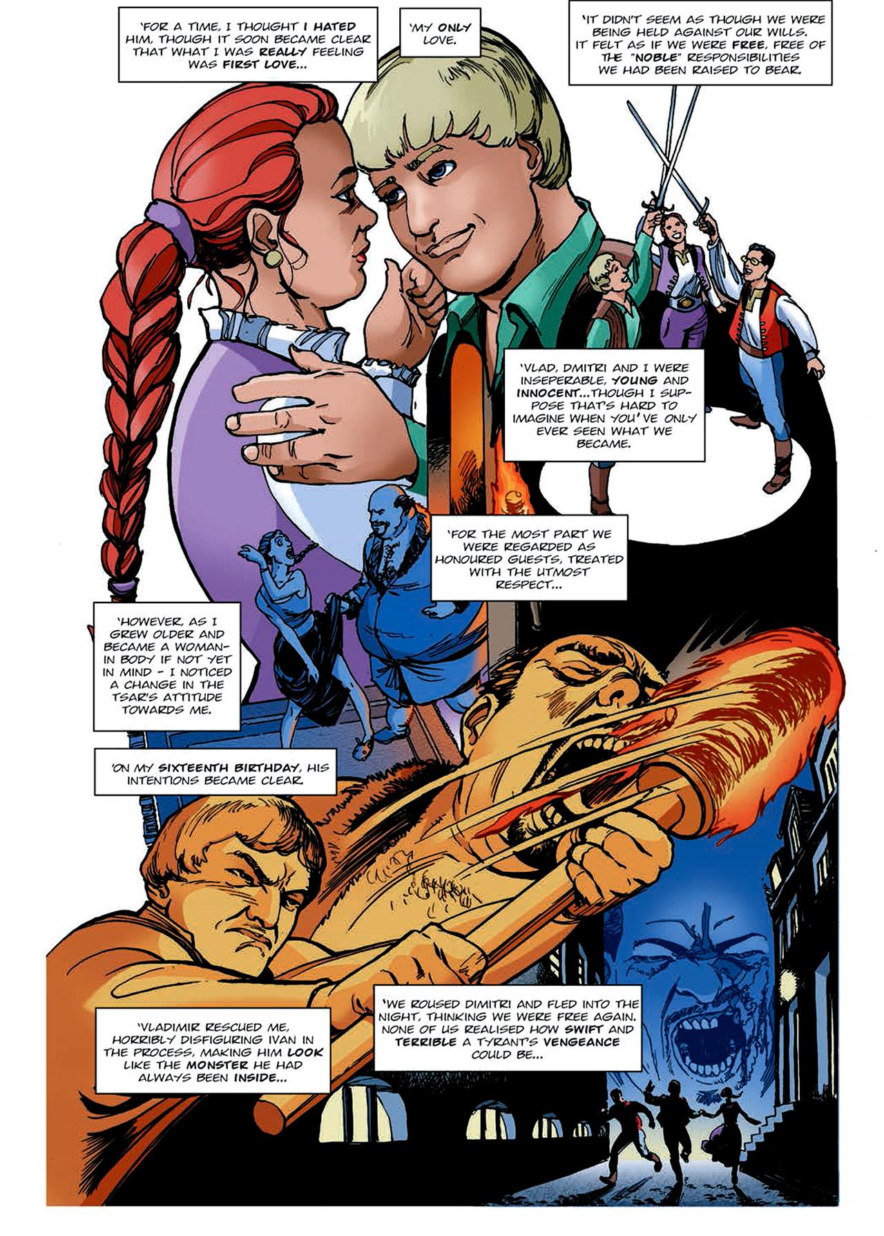 Read online Nikolai Dante comic -  Issue # TPB 4 - 140