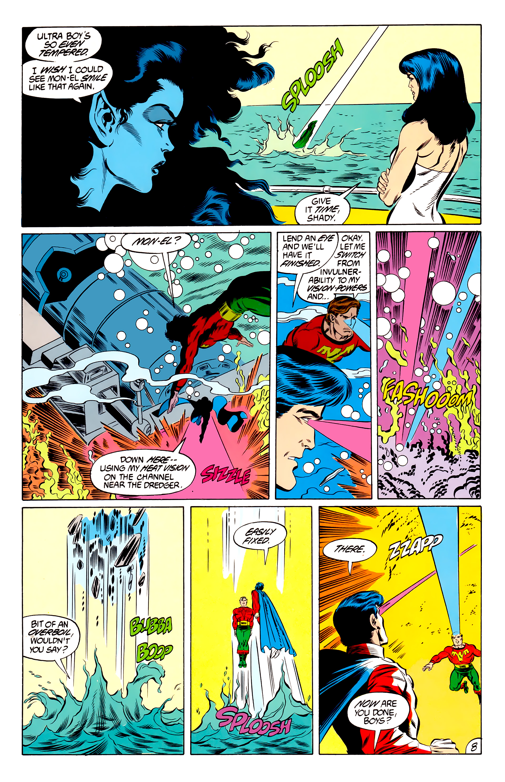Legion of Super-Heroes (1984) 46 Page 8