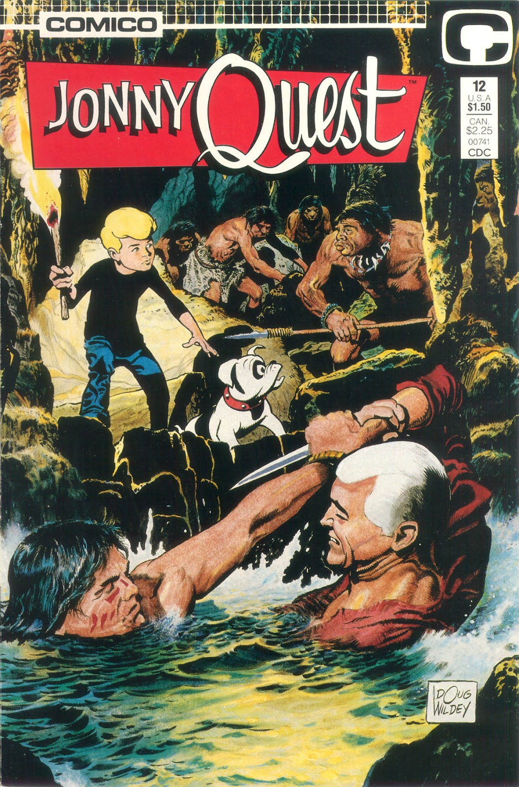 Jonny Quest (1986) issue 12 - Page 2