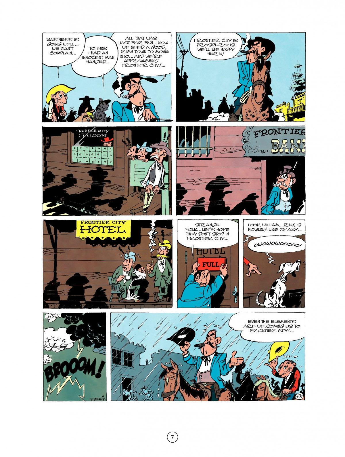 Read online A Lucky Luke Adventure comic -  Issue #27 - 8