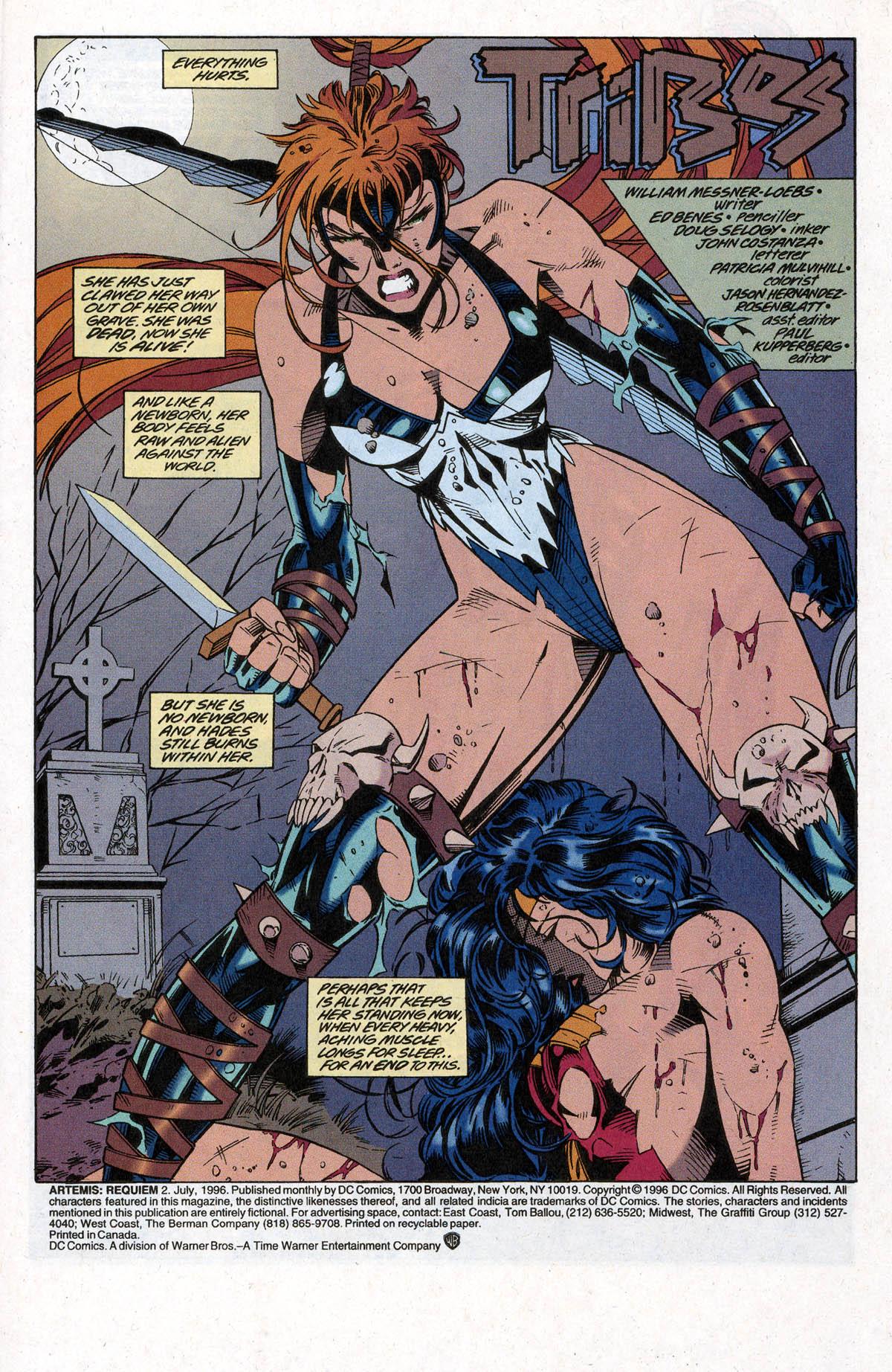 Read online Artemis: Requiem comic -  Issue #2 - 3
