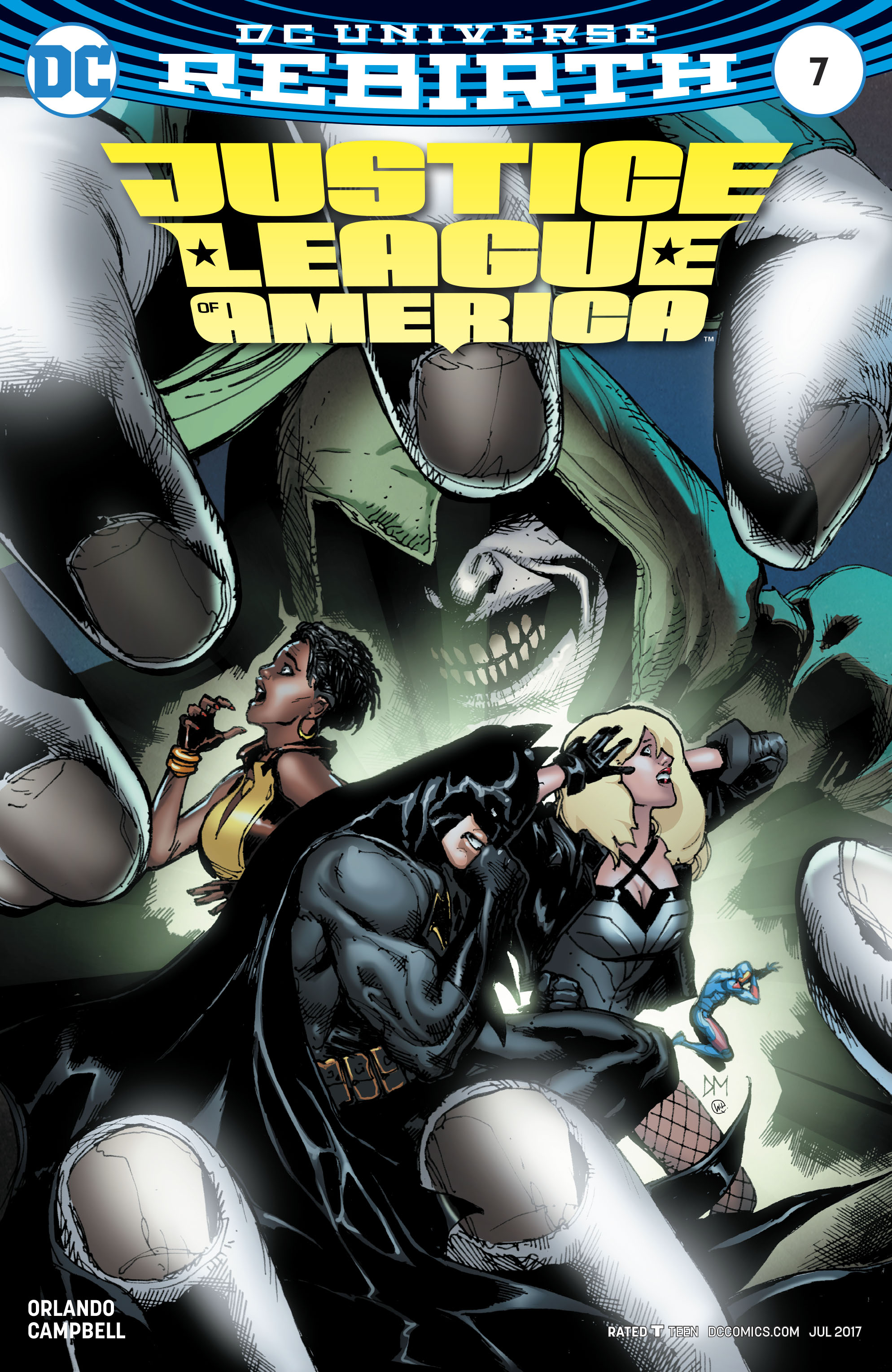 Read online Justice League of America (2017) comic -  Issue #7 - 3