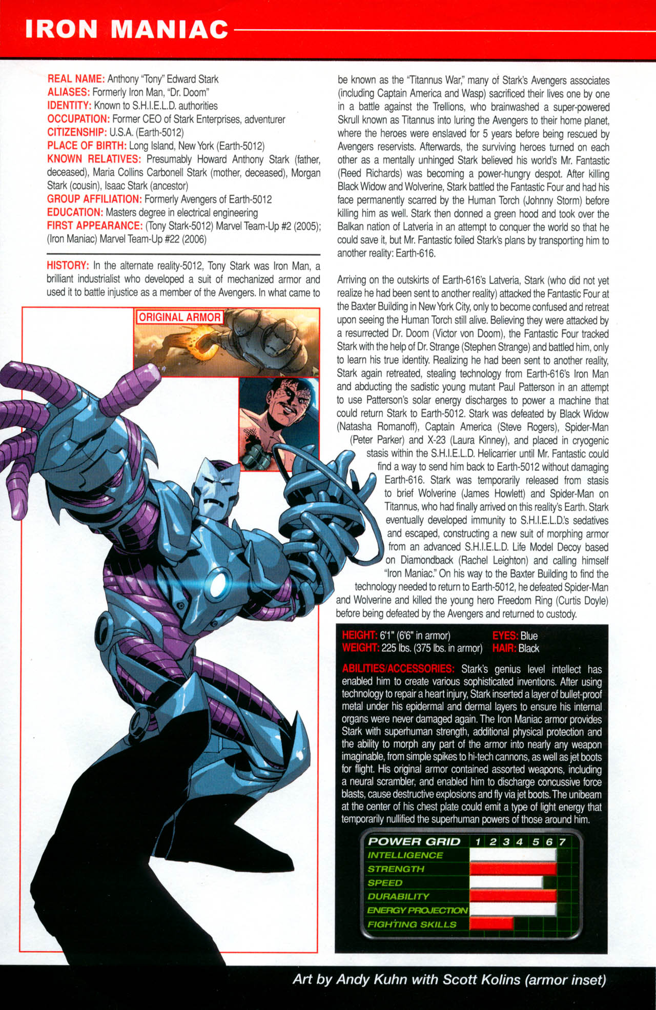 Read online All-New Official Handbook of the Marvel Universe A to Z: Update comic -  Issue #2 - 34