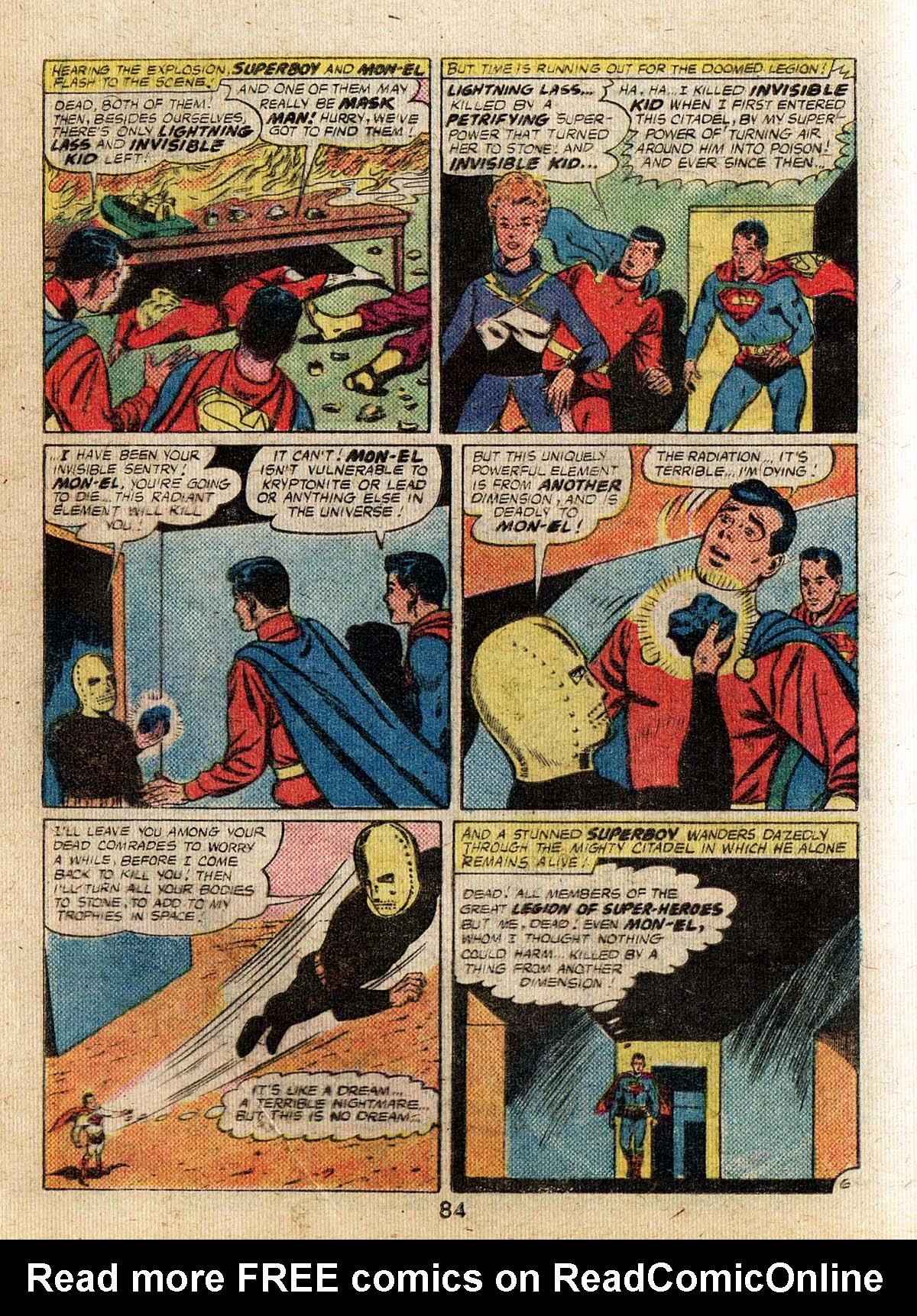 Read online Adventure Comics (1938) comic -  Issue #500 - 84