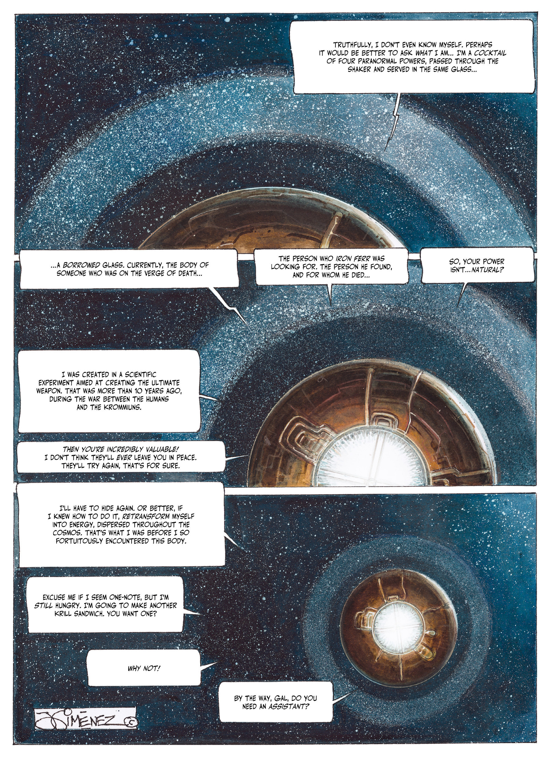 Read online The Fourth Power comic -  Issue #2 - 64
