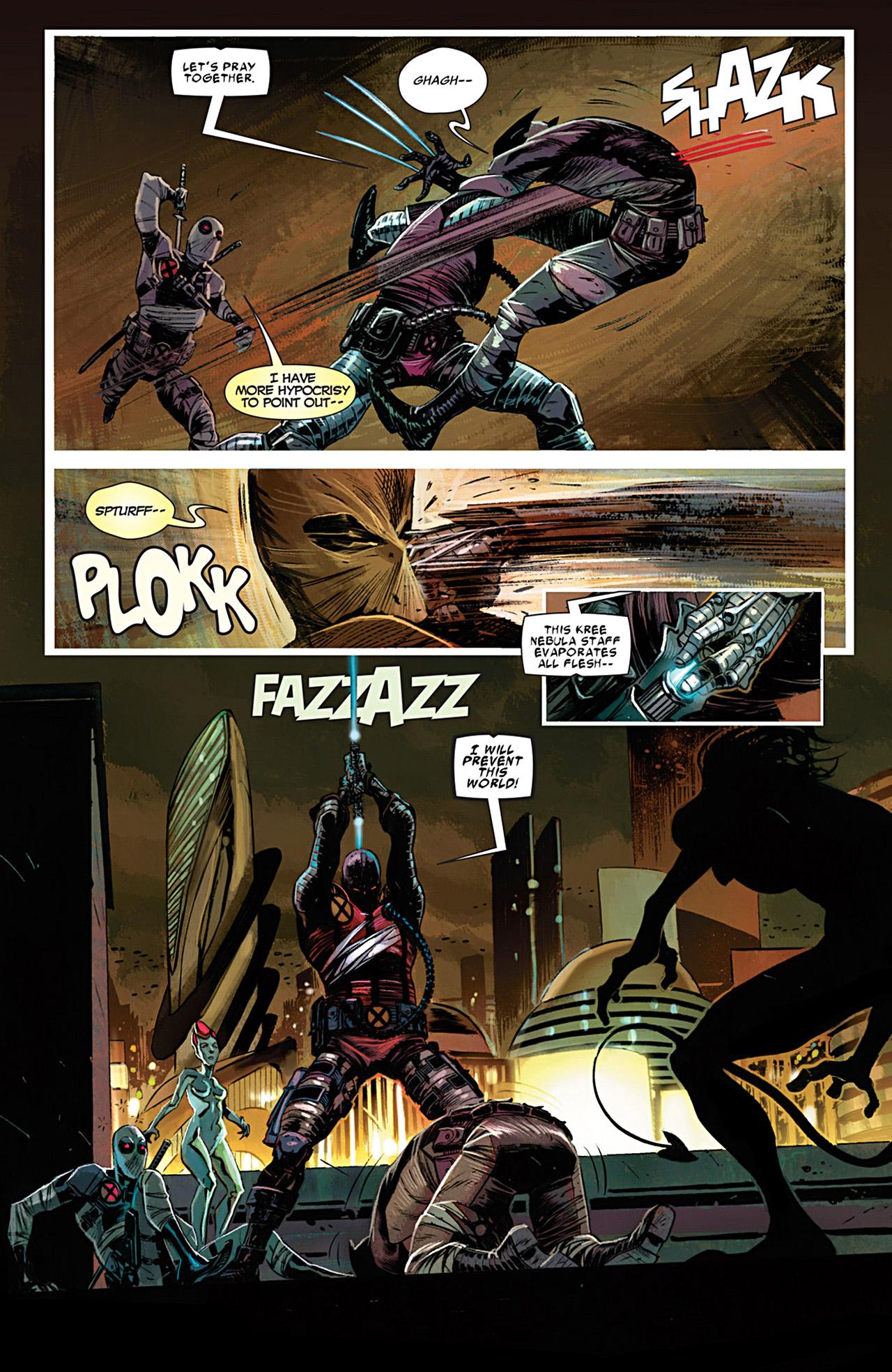 Uncanny X-Force (2010) #28 #30 - English 17