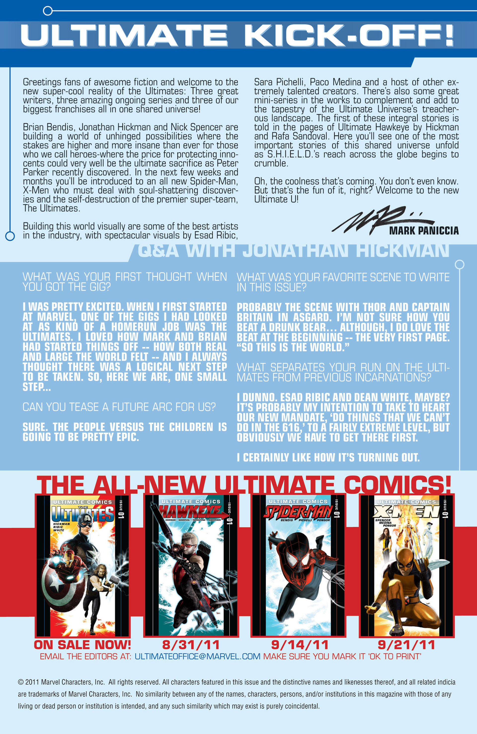 Read online Ultimate Comics Ultimates comic -  Issue #1 - 23