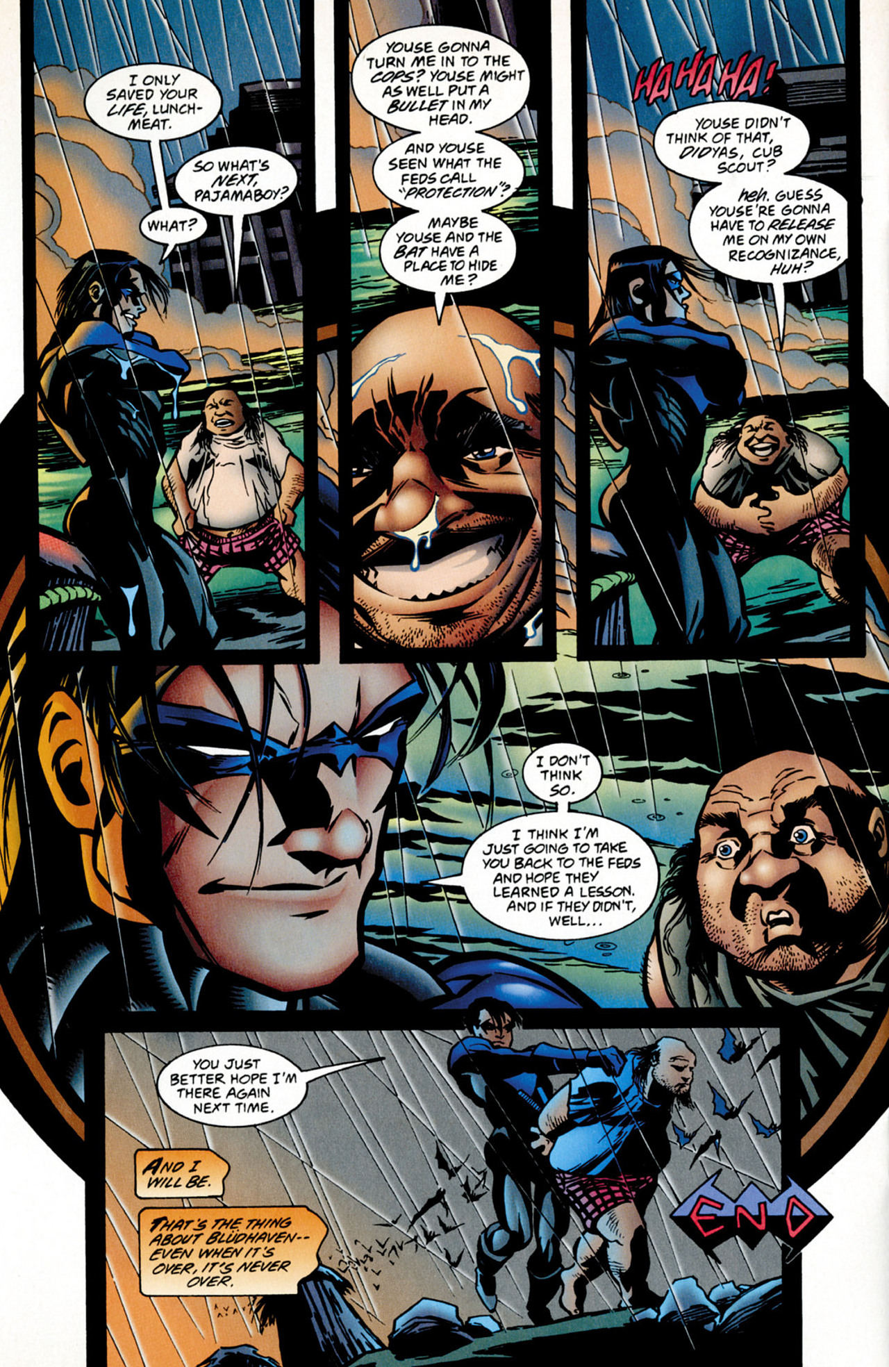 Read online Nightwing (1996) comic -  Issue #0.5 - 18