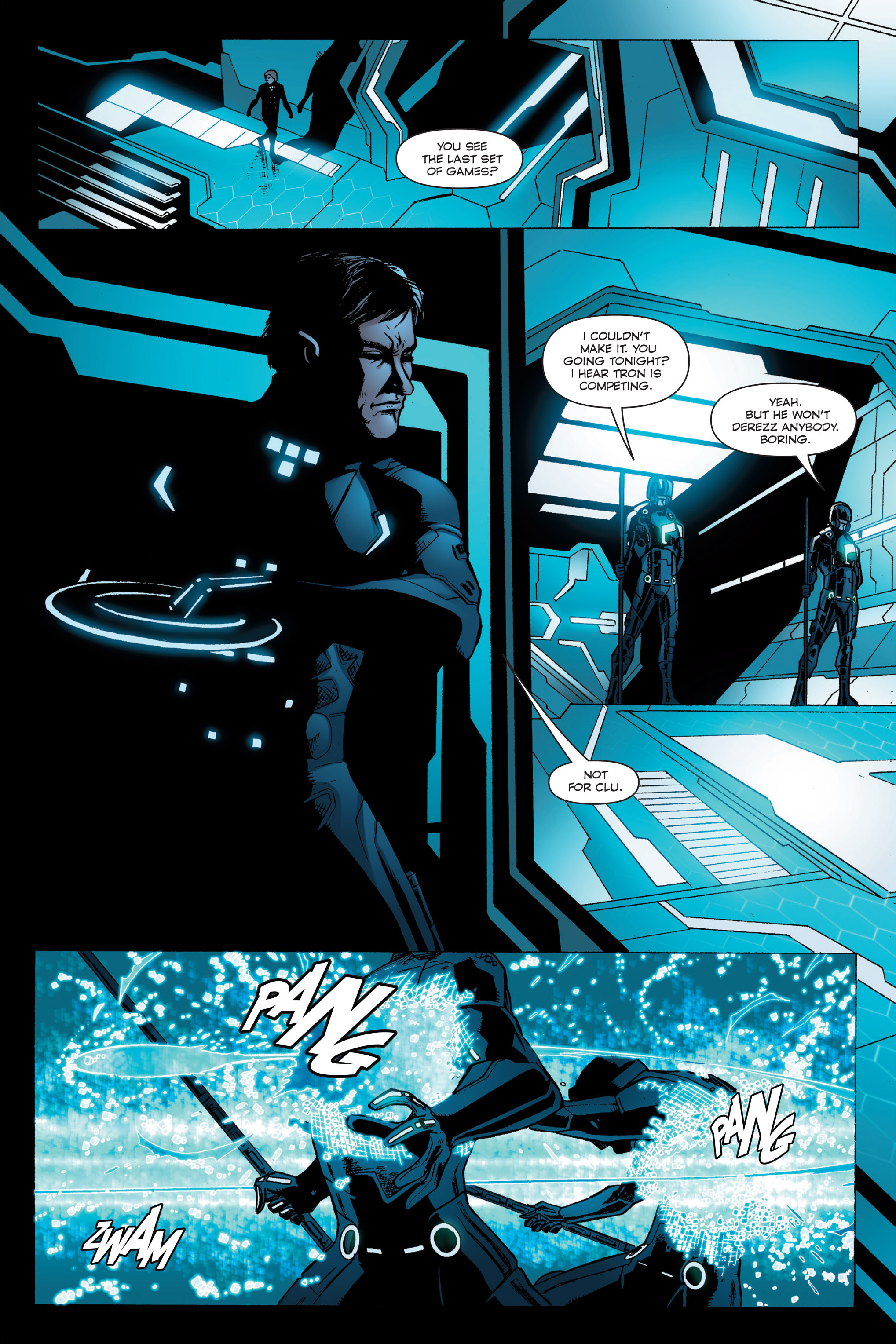 Read online TRON: Betrayal comic -  Issue # TPB - 95