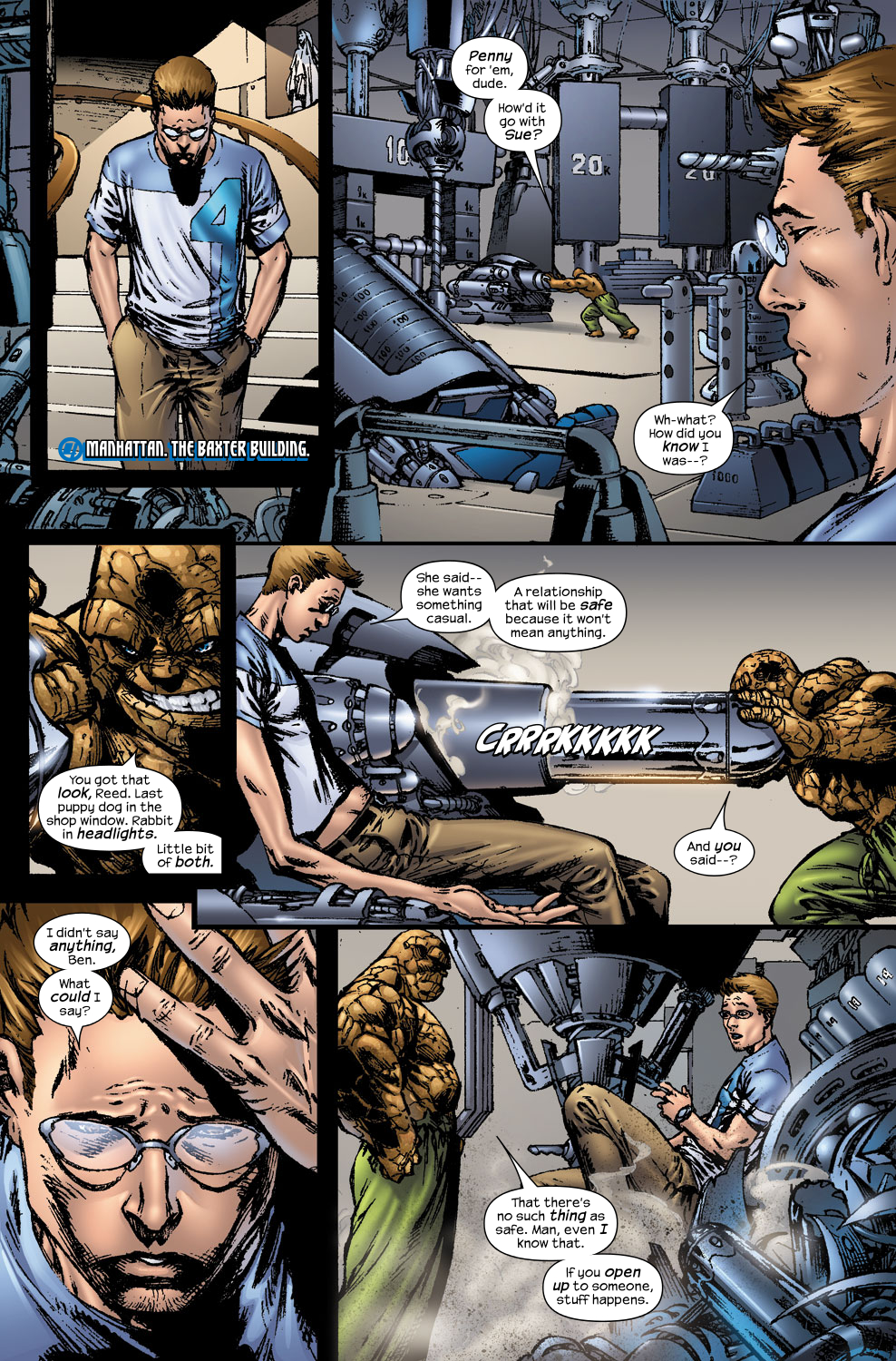 Read online Ultimate Fantastic Four (2004) comic -  Issue #56 - 3