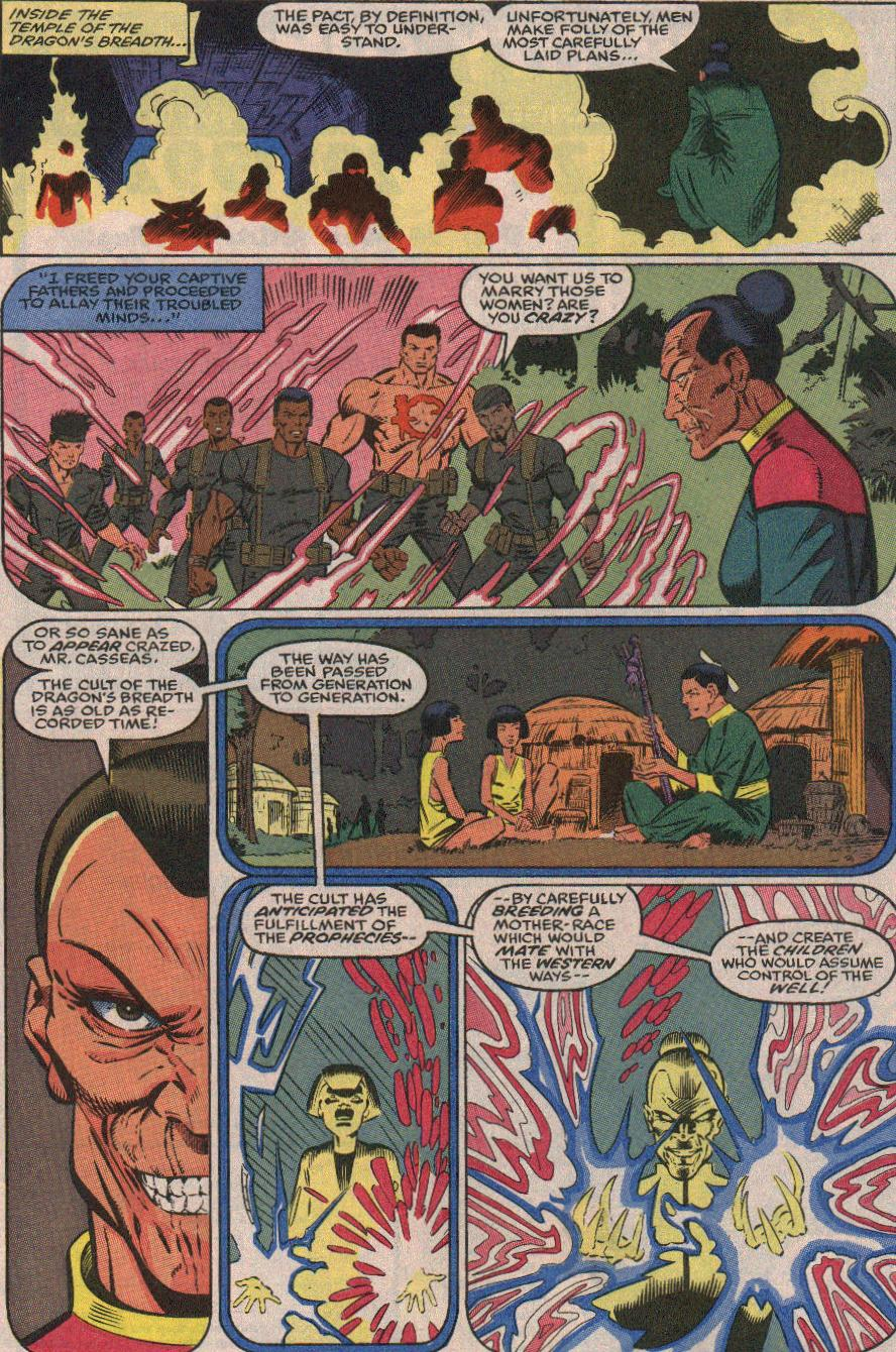 The New Warriors Issue #23 #27 - English 20