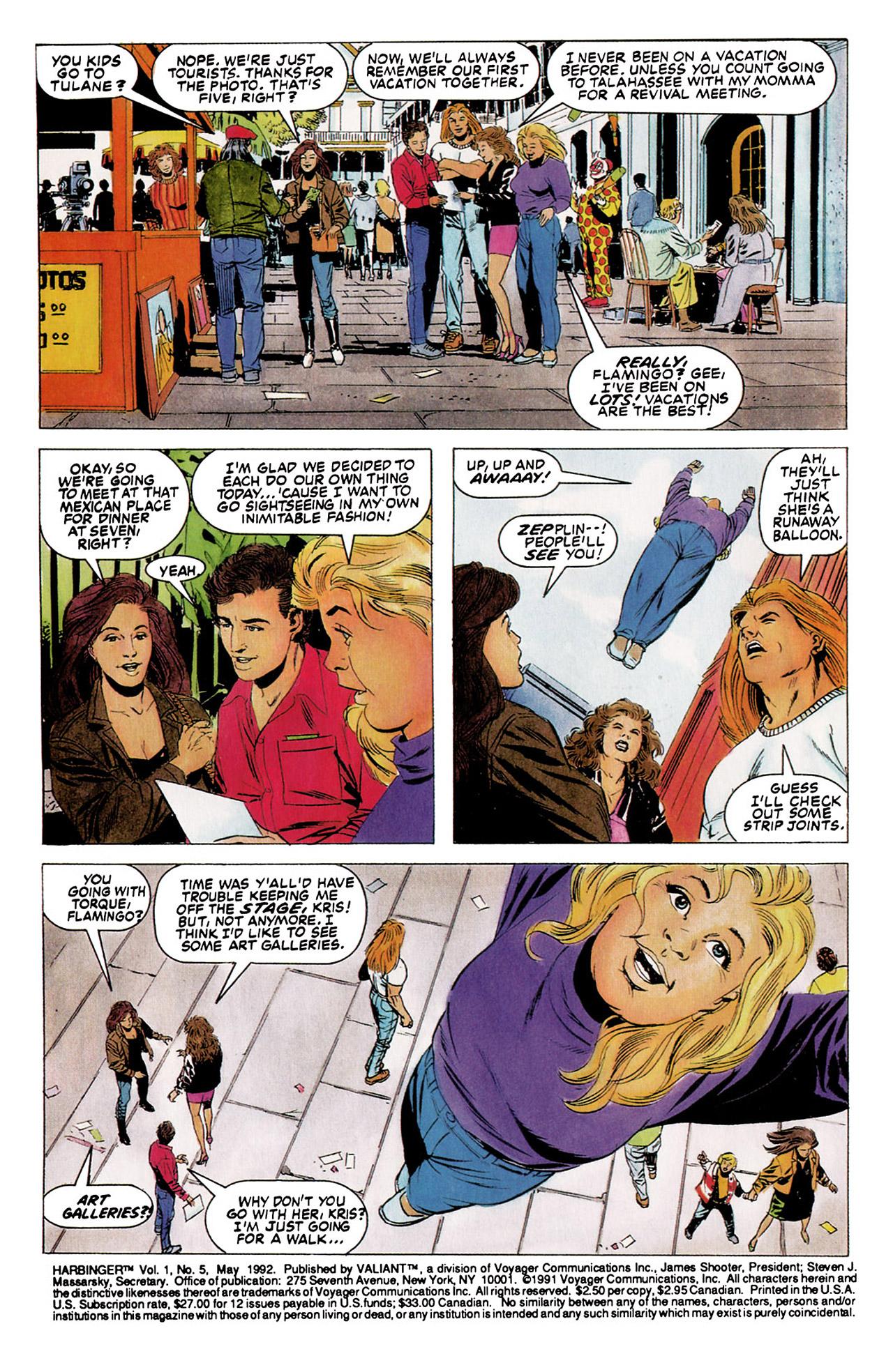Read online Harbinger (1992) comic -  Issue #5 - 3