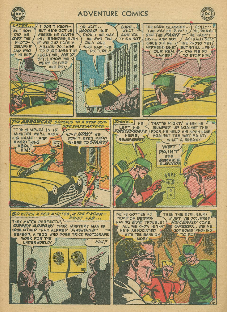 Read online Adventure Comics (1938) comic -  Issue #205 - 33