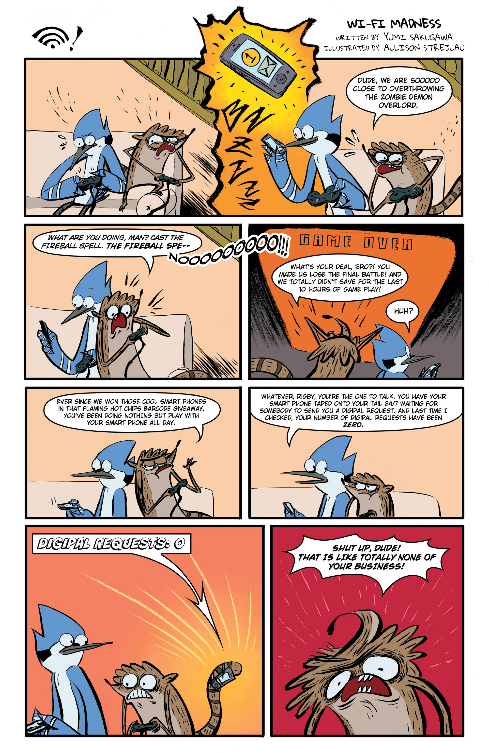 Read online Regular Show comic -  Issue # _Annual 1 - 9