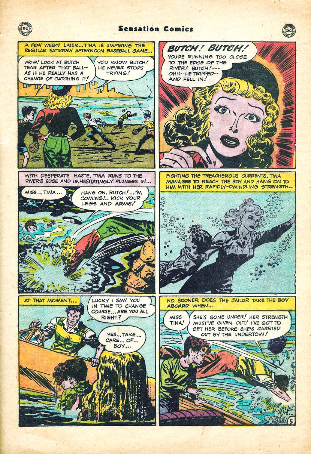 Read online Sensation (Mystery) Comics comic -  Issue #95 - 41