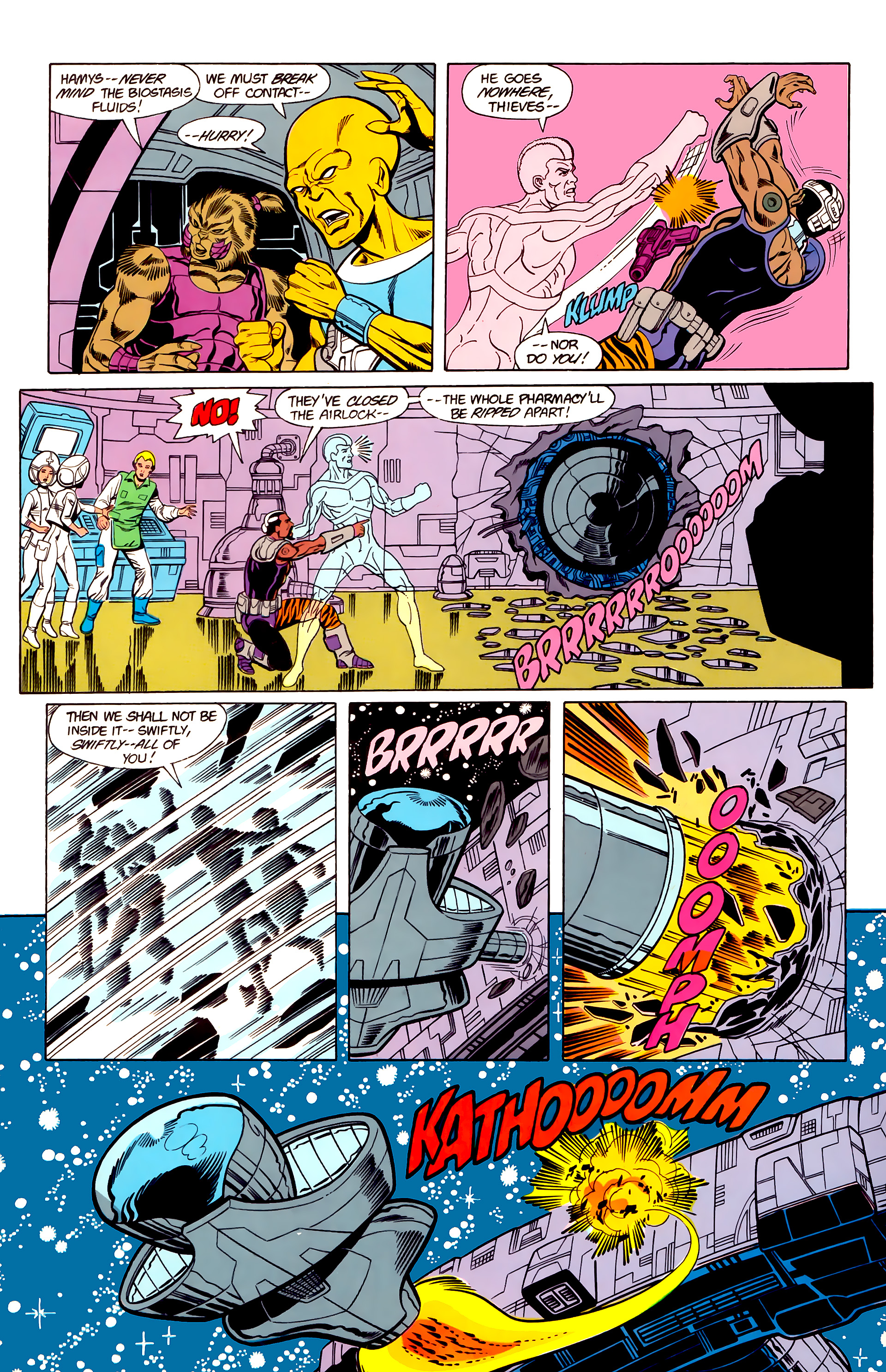 Legion of Super-Heroes (1984) 19 Page 27