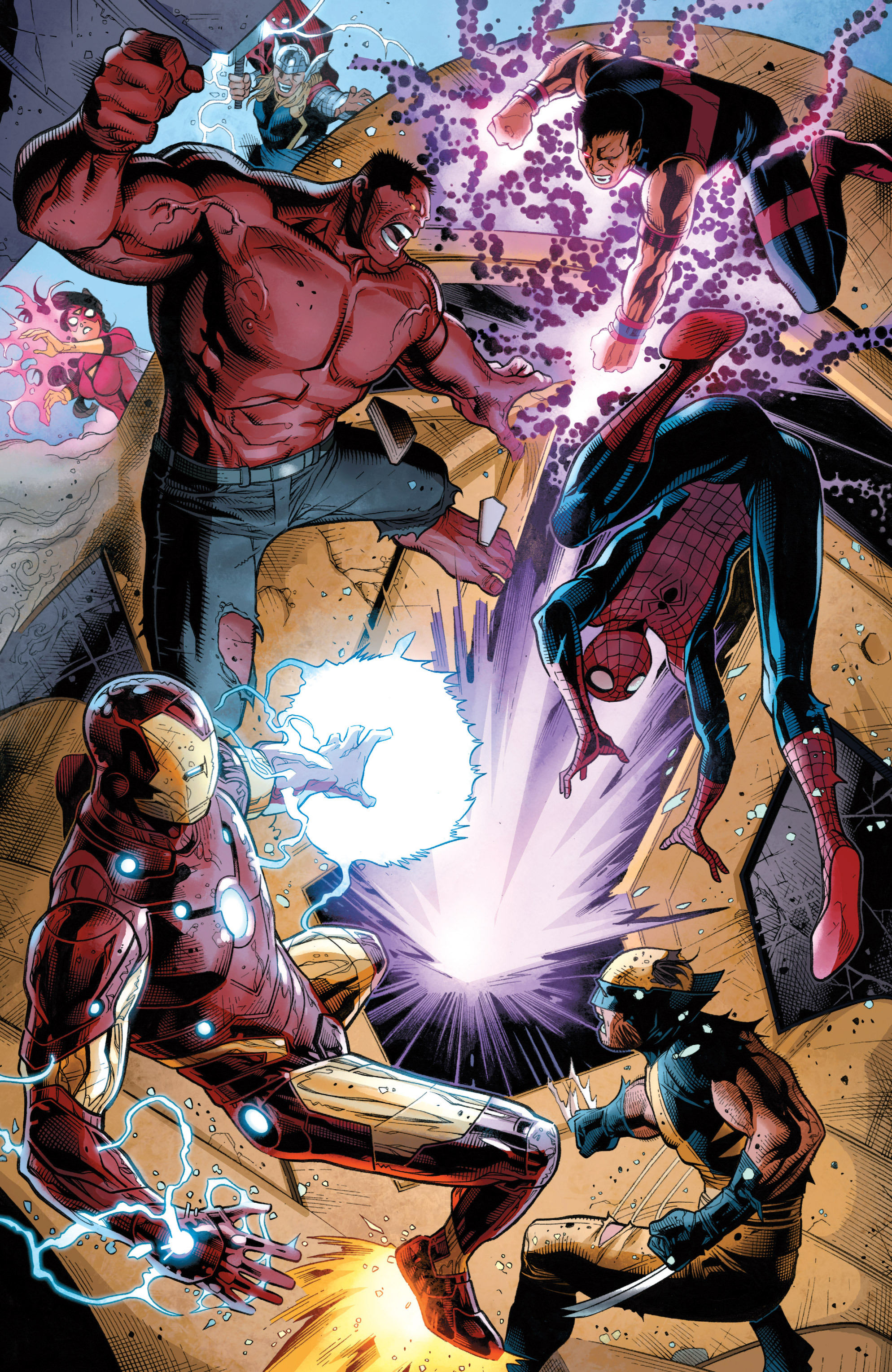 Read online Avengers (2010) comic -  Issue #34 - 26