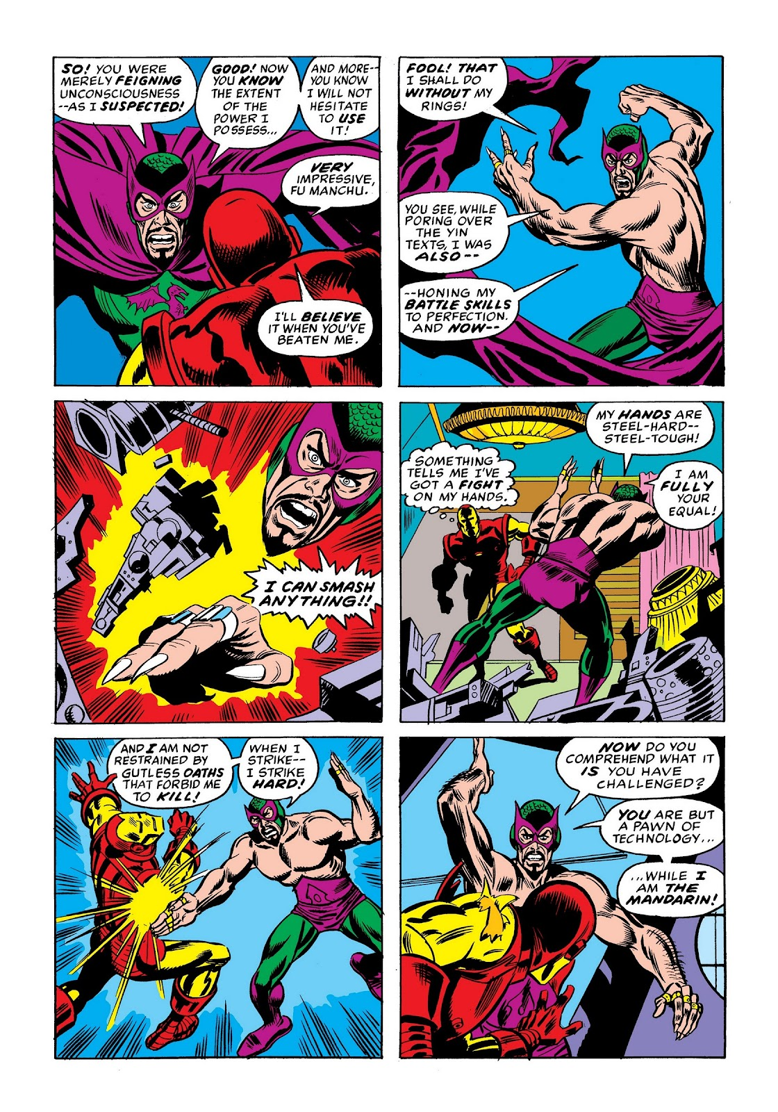Read online Marvel Masterworks: The Invincible Iron Man comic -  Issue # TPB 9 (Part 1) - 85