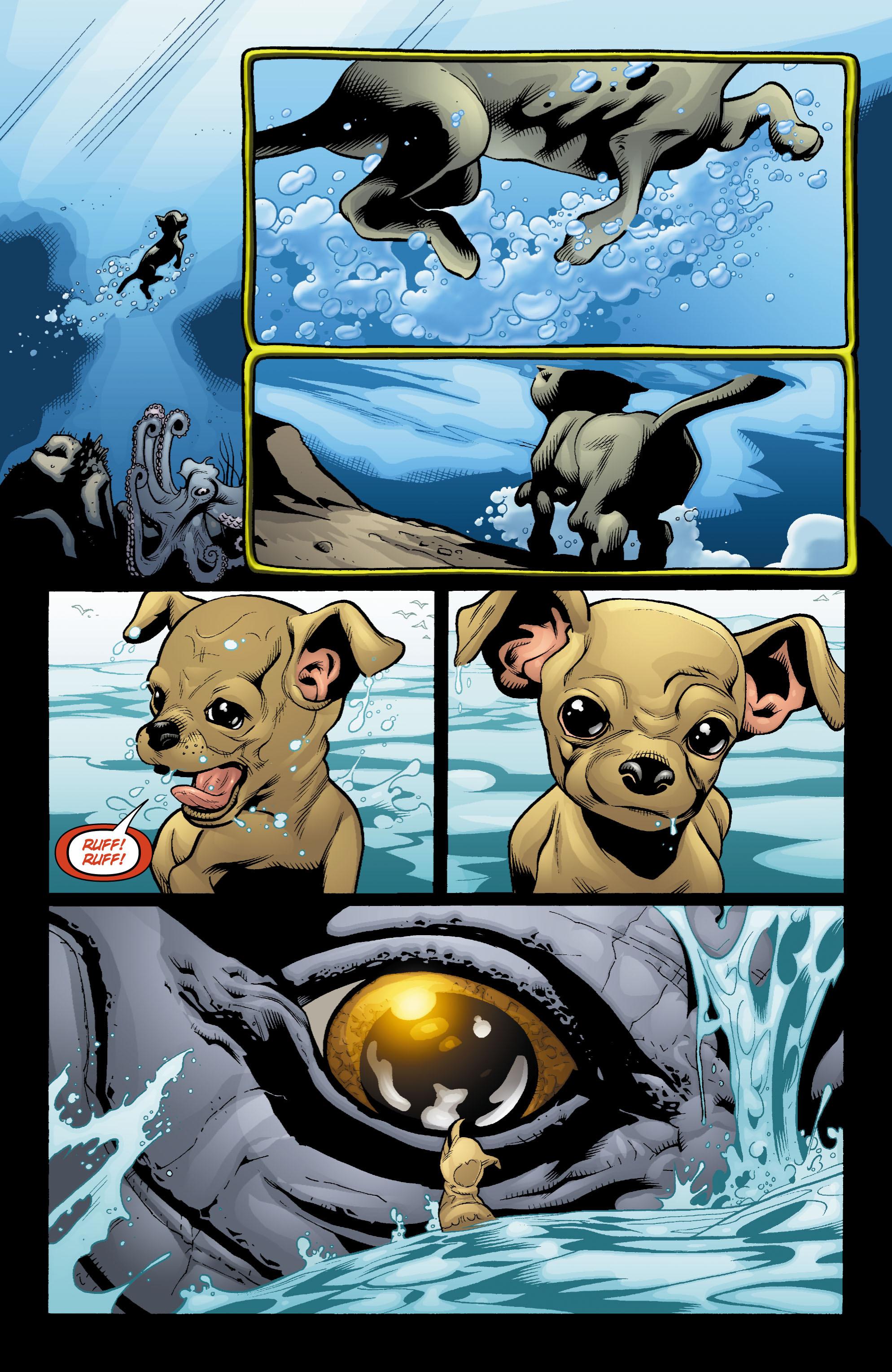 Read online Aquaman (2003) comic -  Issue #18 - 2