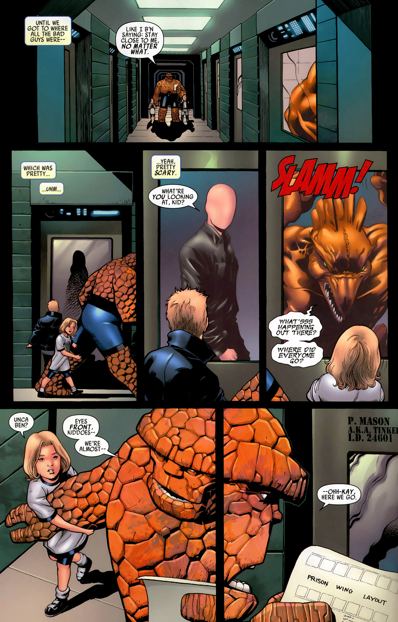 Read online Secret Invasion: Fantastic Four comic -  Issue #3 - 16