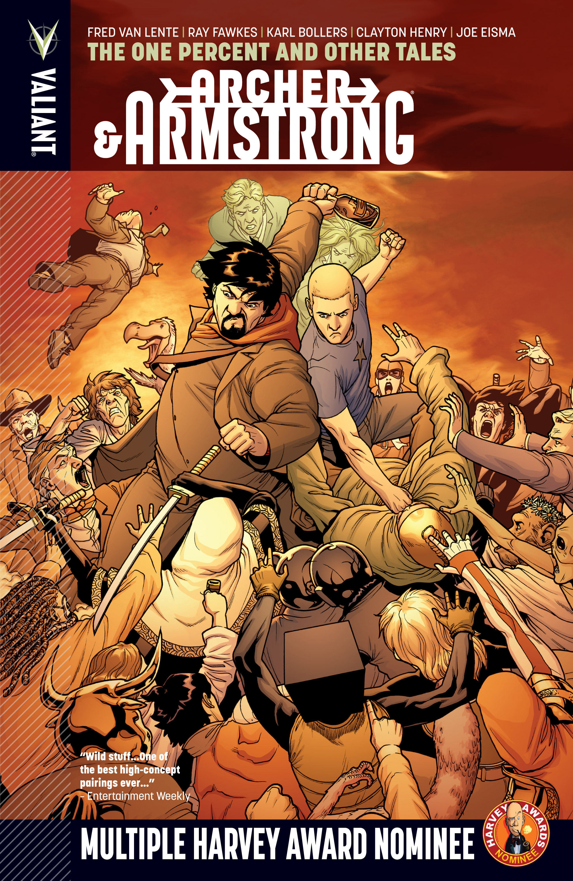 Read online Archer and Armstrong comic -  Issue #Archer and Armstrong _TPB 7 - 1