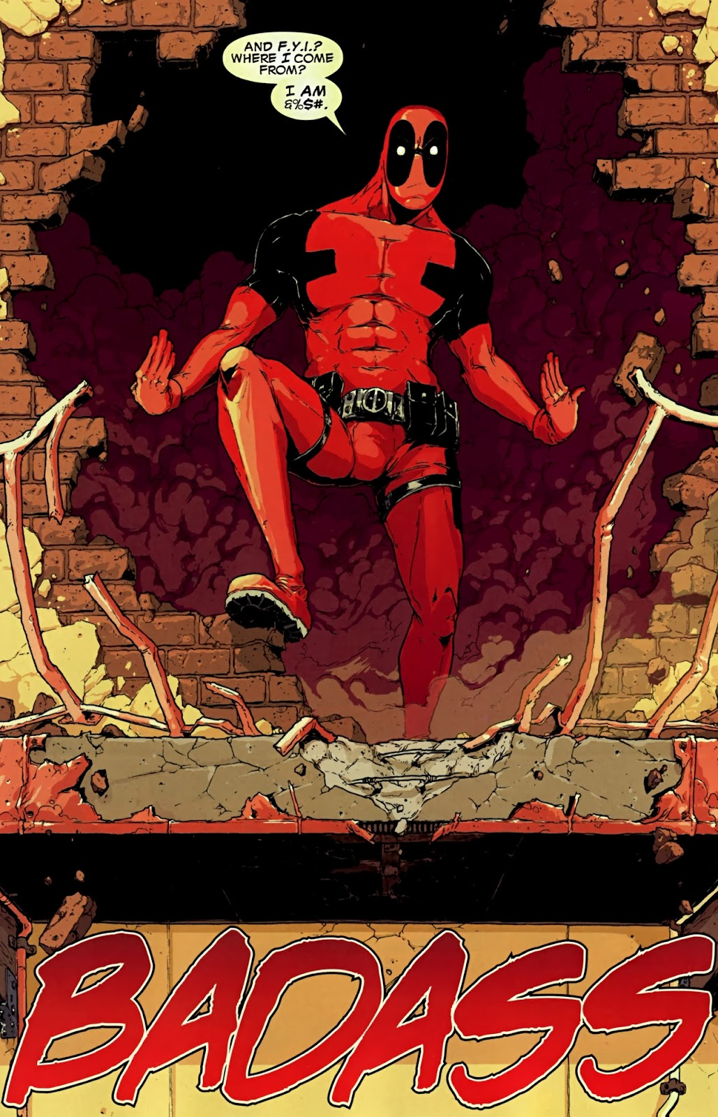 Read online Deadpool (2008) comic -  Issue #32 - 7