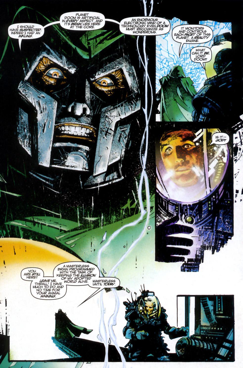 Read online Doom: The Emperor Returns comic -  Issue #2 - 10