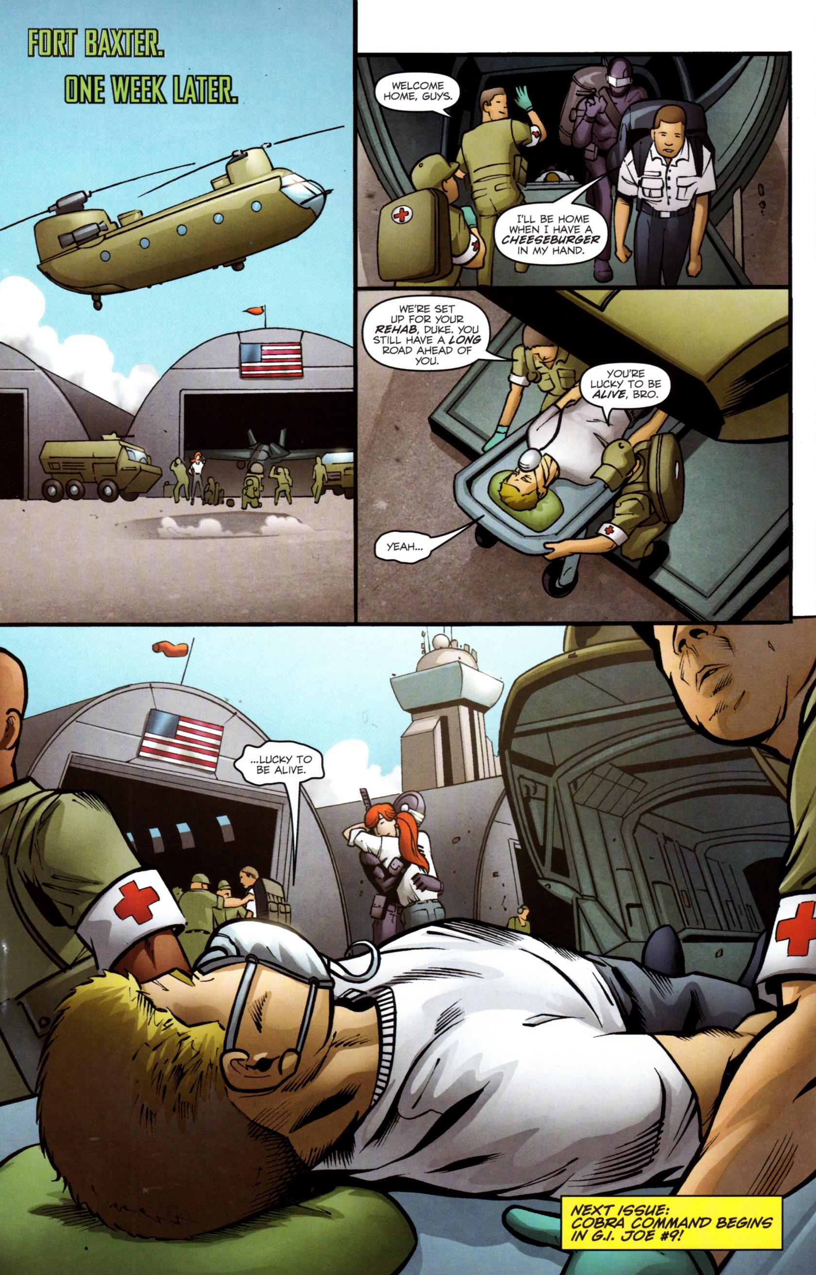 Read online G.I. Joe: Snake Eyes comic -  Issue #8 - 25