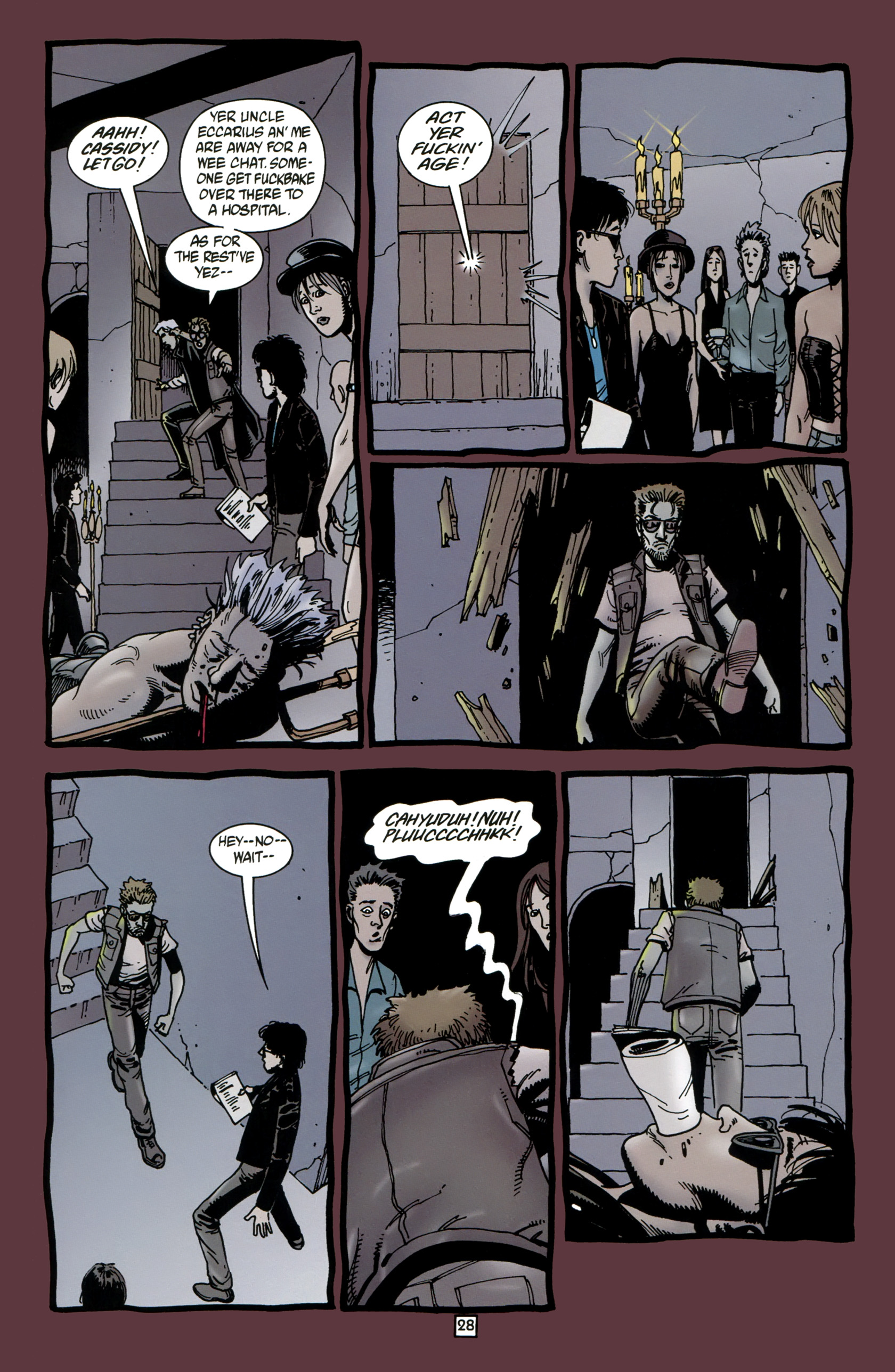 Read online Preacher Special: Cassidy : Blood and Whiskey comic -  Issue # Full - 30
