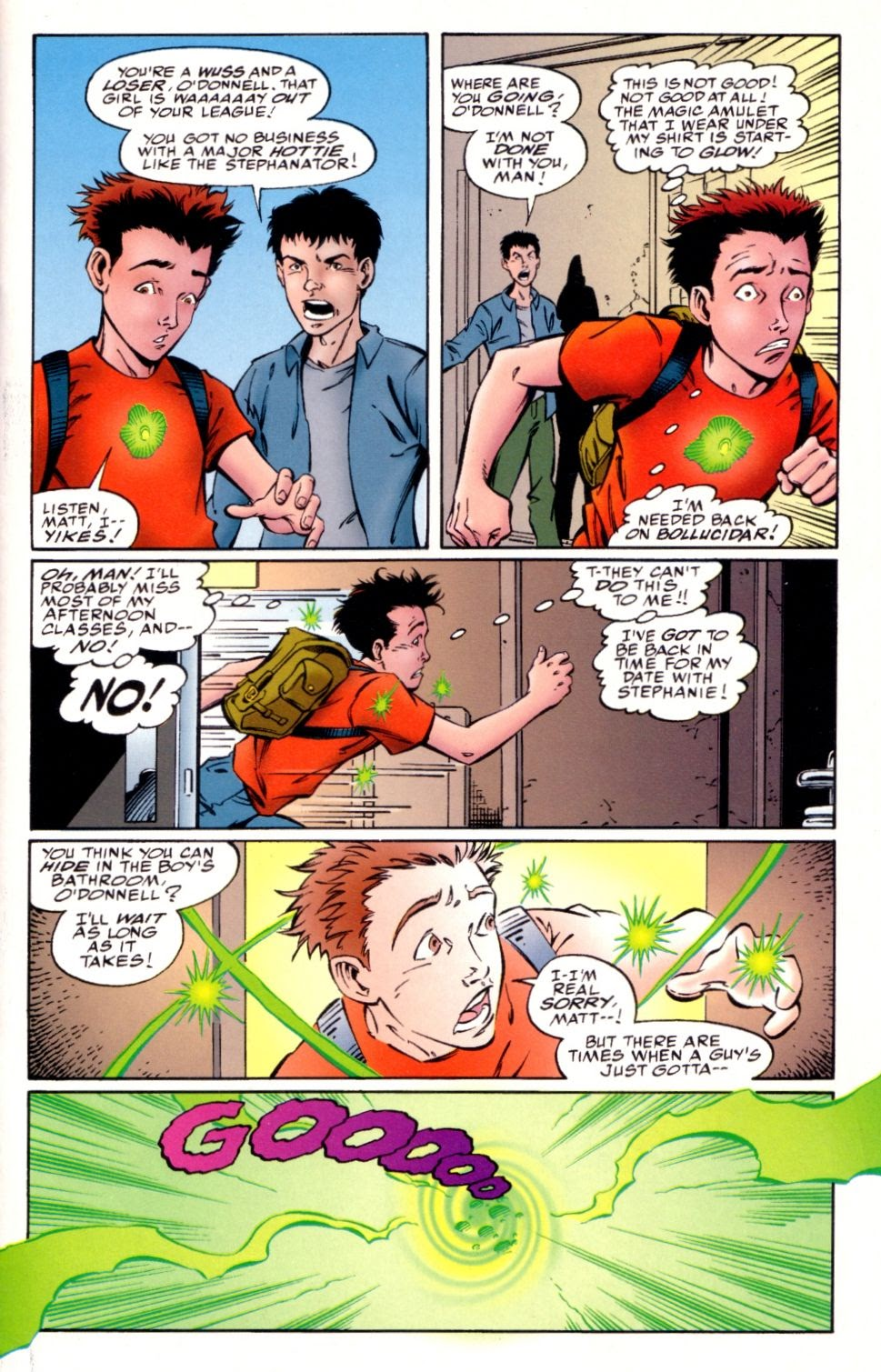 Read online Randy O'Donnell is The M@N comic -  Issue #3 - 5