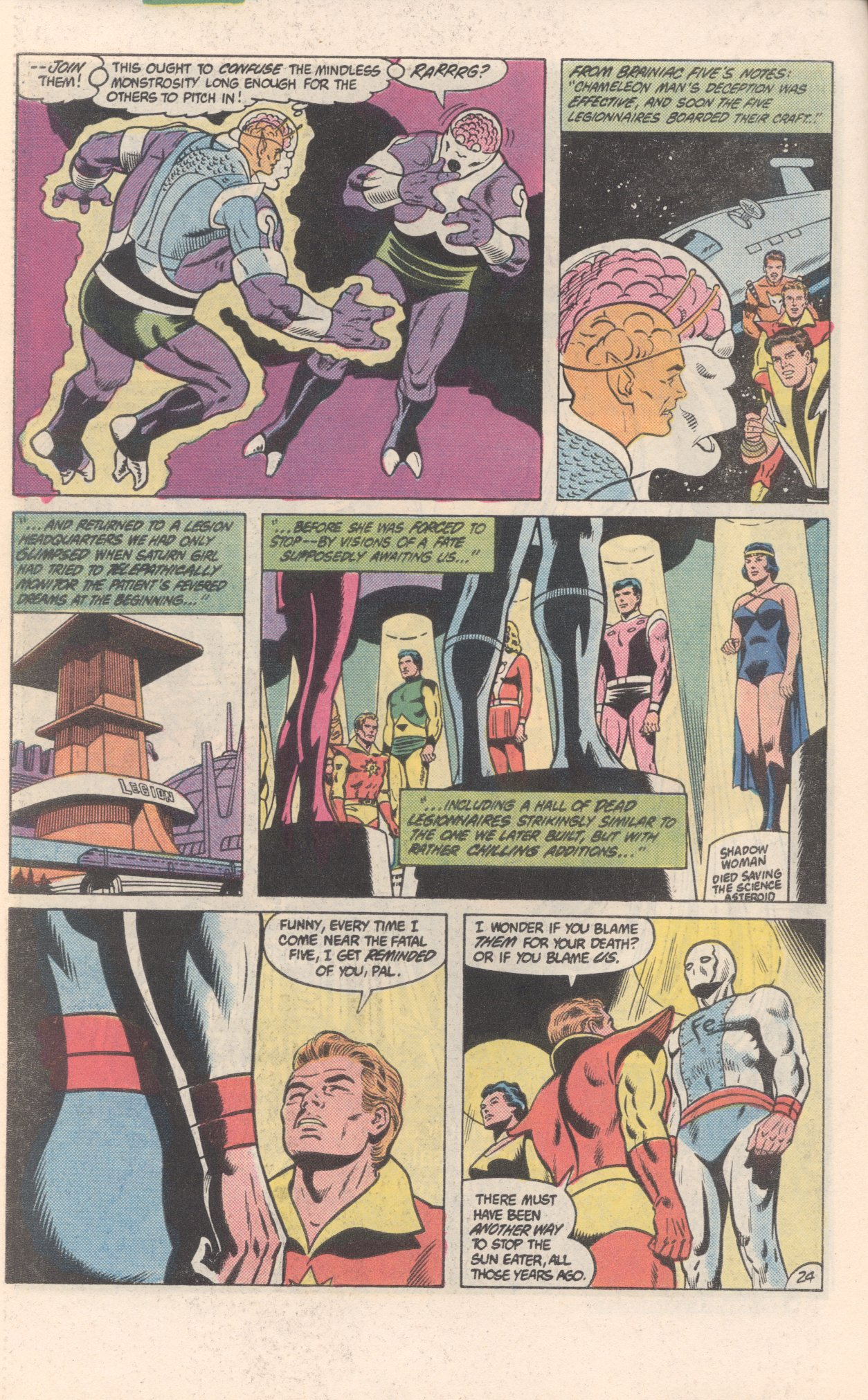 Legion of Super-Heroes (1980) 300 Page 24