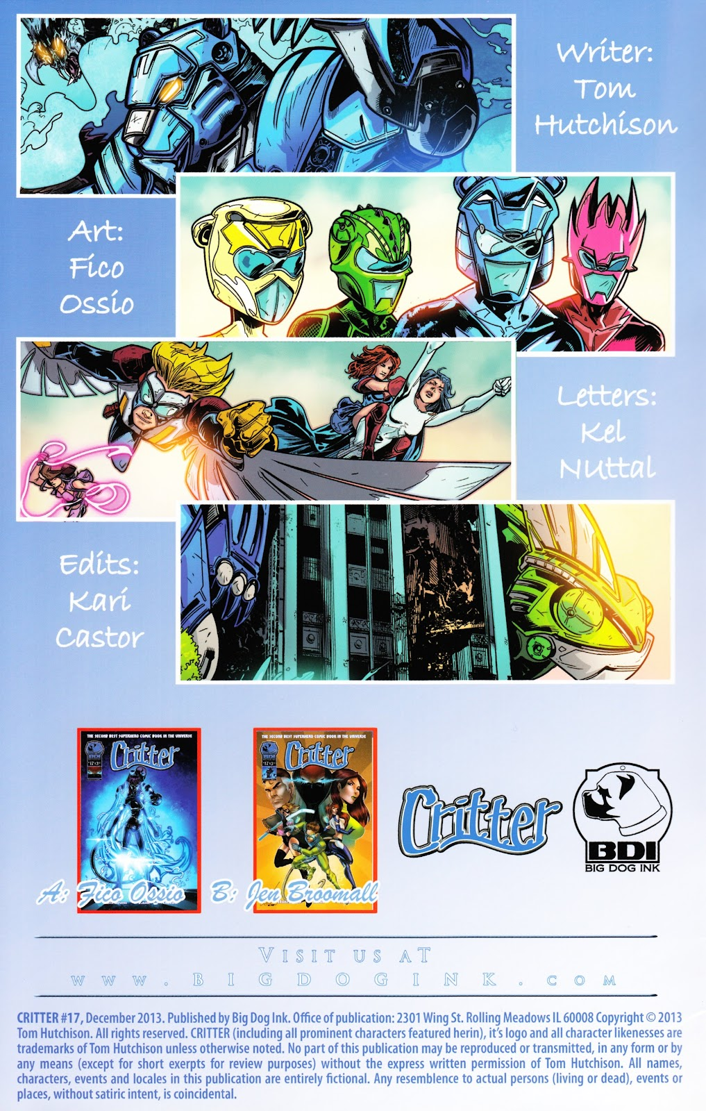 Read online Critter (2012) comic -  Issue #17 - 2