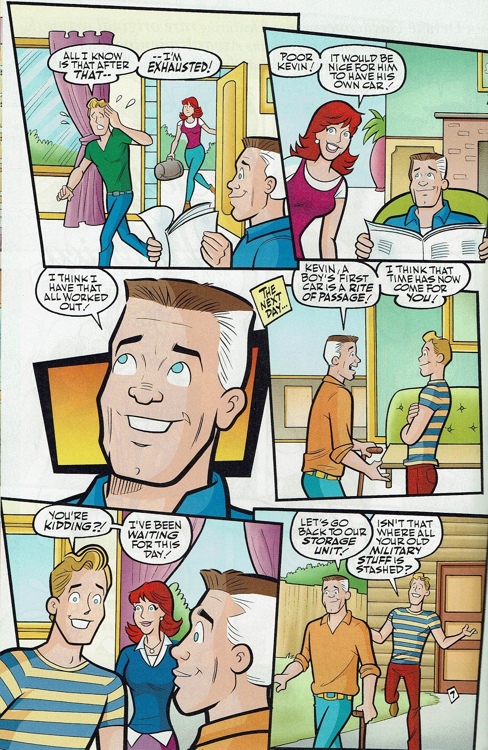 Read online Kevin Keller comic -  Issue #5 - 13