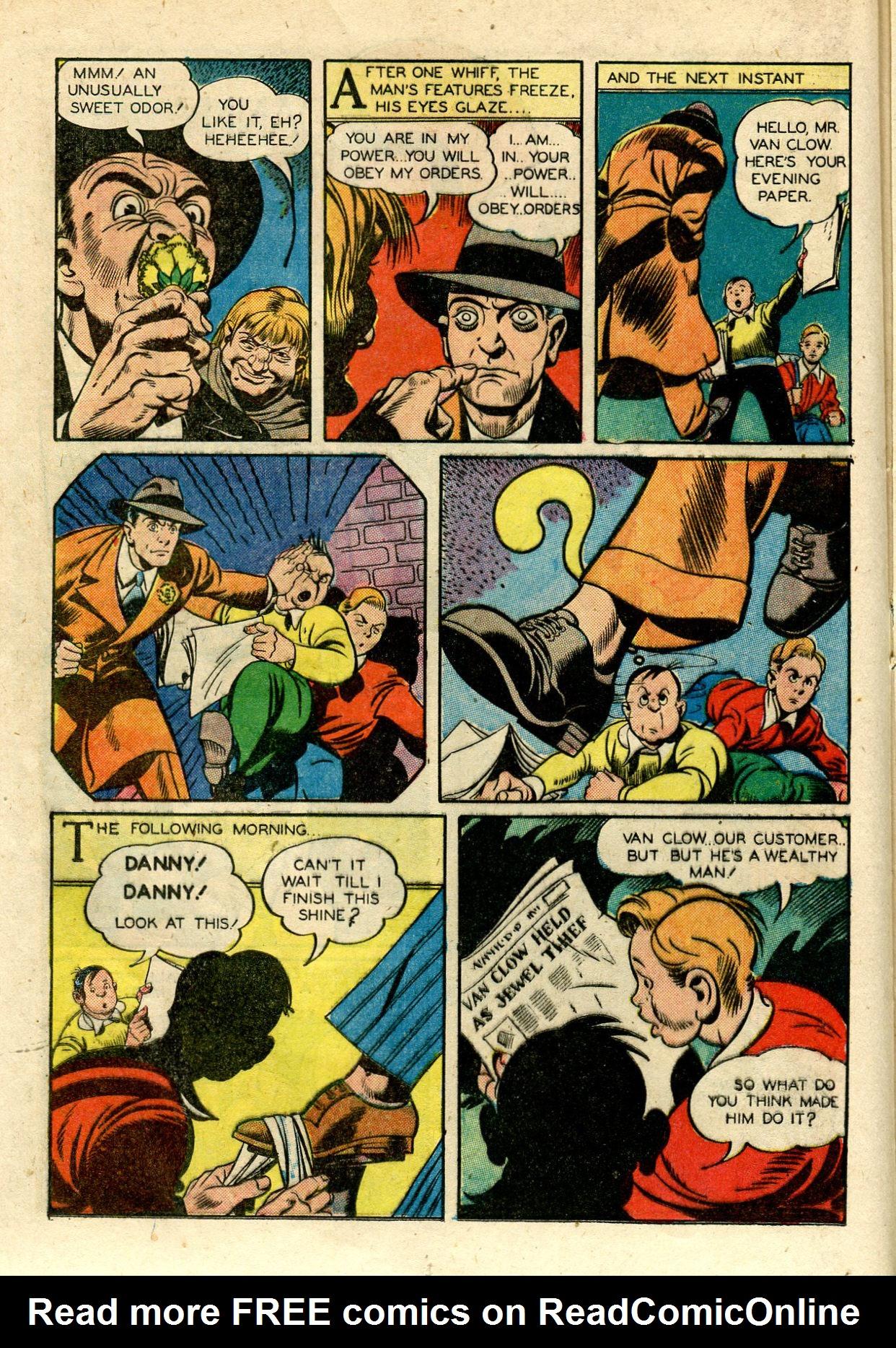 Read online Shadow Comics comic -  Issue #33 - 30