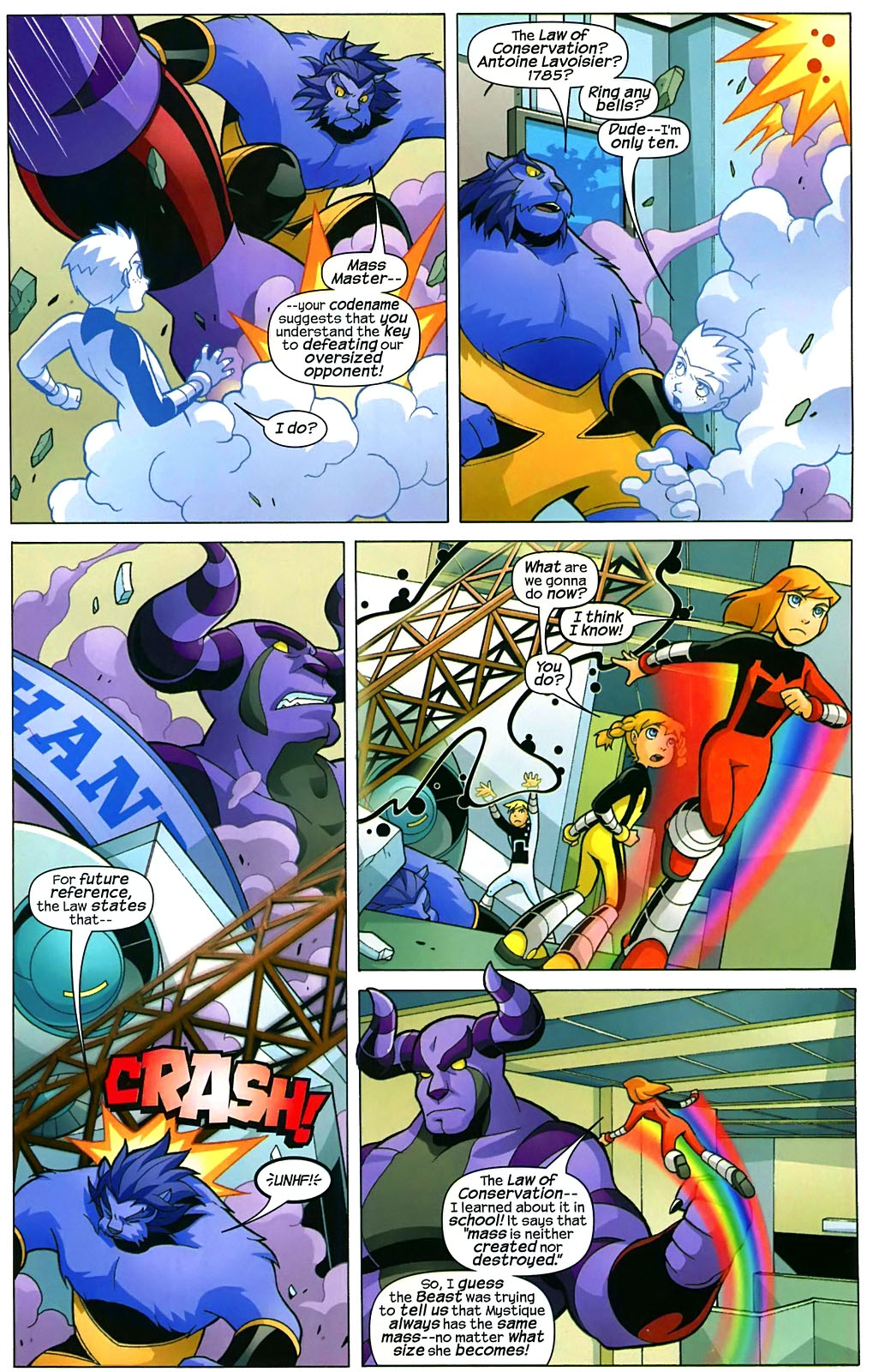 Read online X-Men and Power Pack comic -  Issue #2 - 21