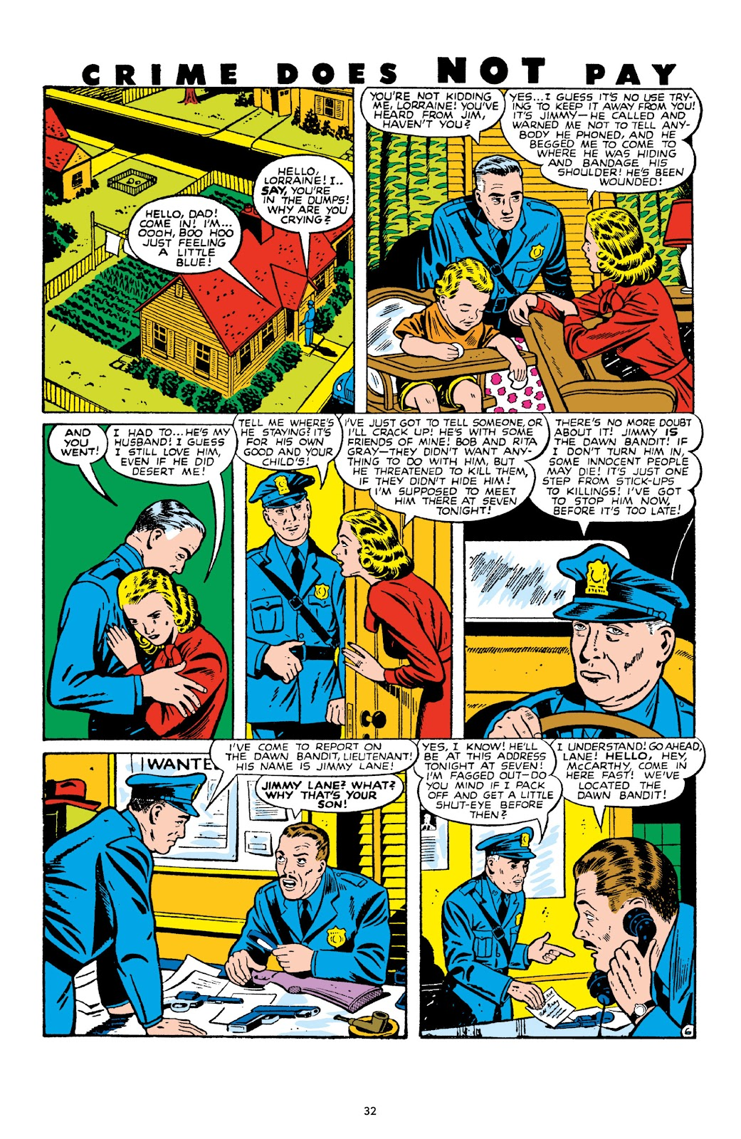 Read online Crime Does Not Pay Archives comic -  Issue # TPB 10 (Part 1) - 34