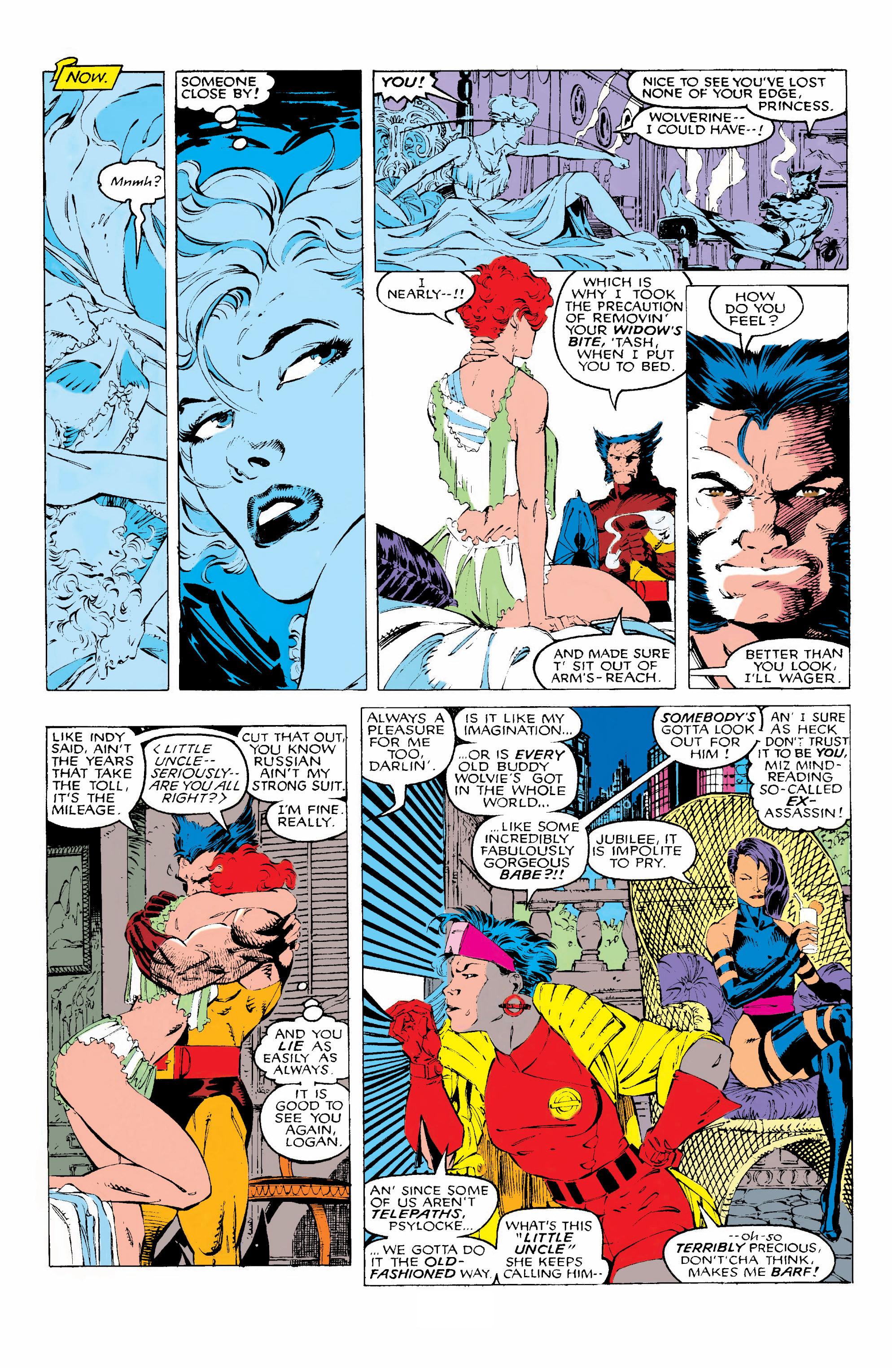 Read online Uncanny X-Men (1963) comic -  Issue #268 - 12