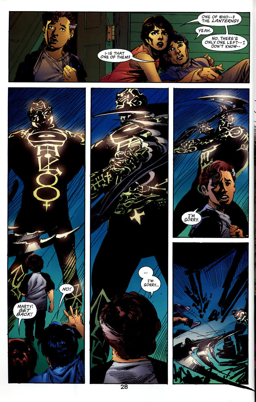Read online Green Lantern: Legacy: The Last Will and Testament of Hal Jordan comic -  Issue # TPB - 33