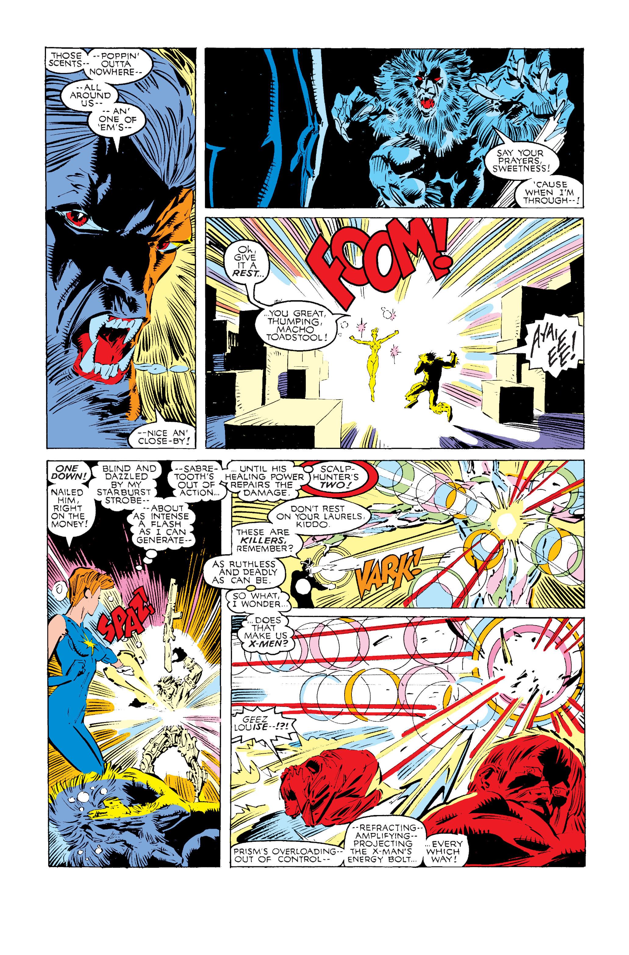 Read online Uncanny X-Men (1963) comic -  Issue #240 - 18