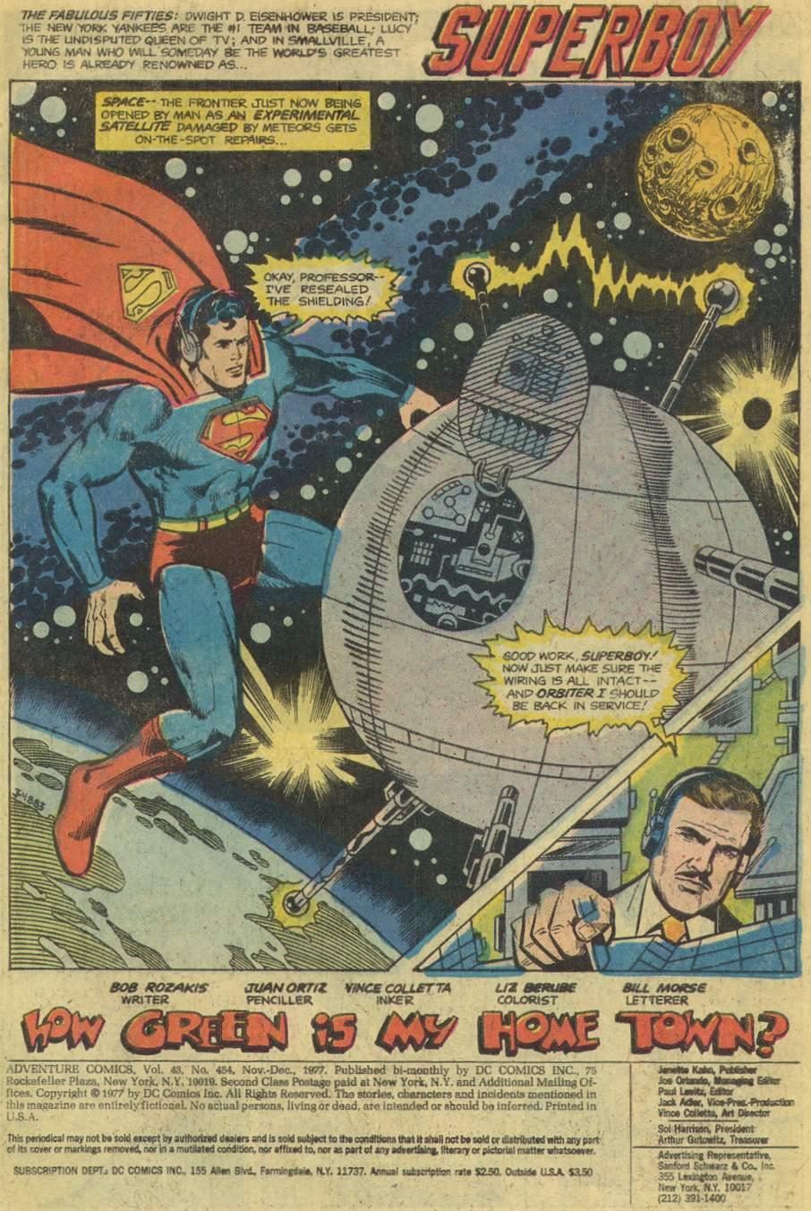 Read online Adventure Comics (1938) comic -  Issue #454 - 3