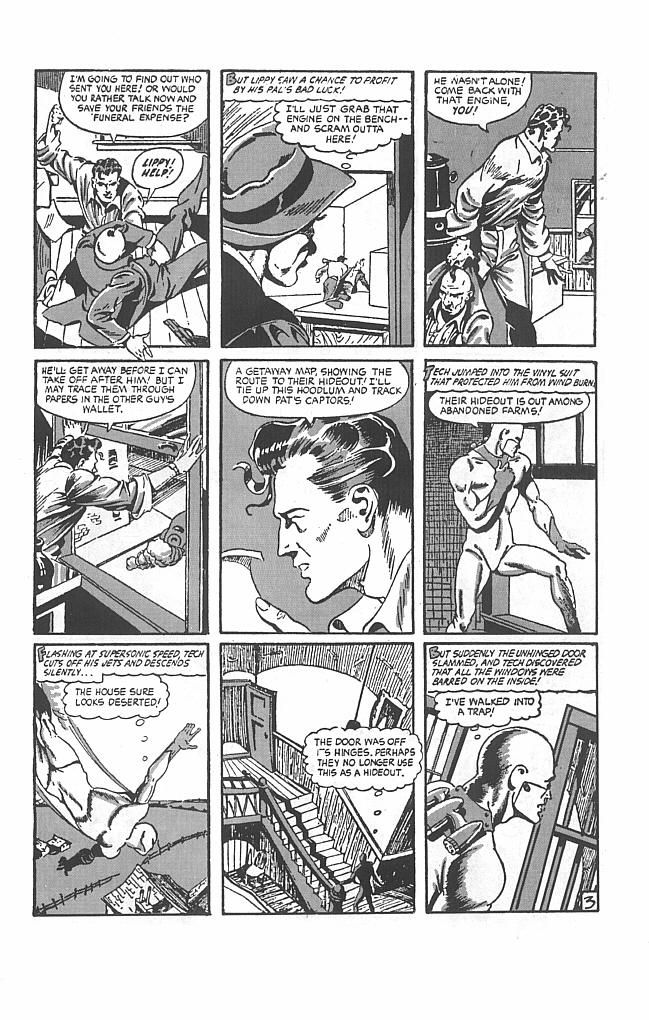 Read online Golden-Age Men of Mystery comic -  Issue #8 - 11